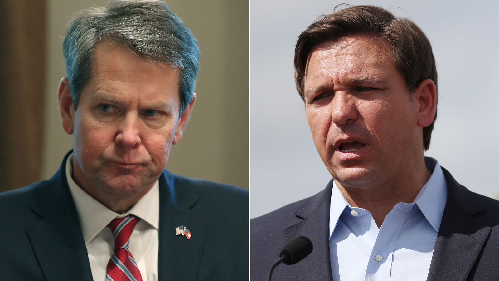 Governors of Georgia and Florida offer to host Republican convention as Trump threatens to pull it from North Carolina