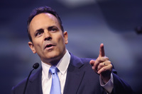 Former Kentucky governor issued hundreds of pardons before leaving office this week