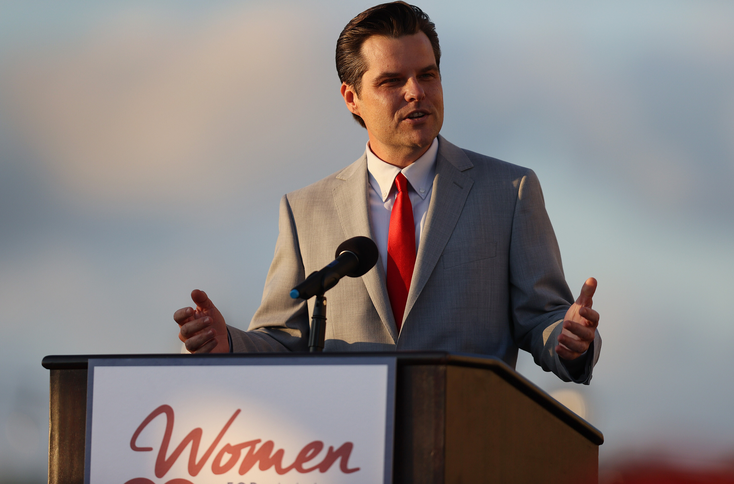 Florida man charged with attempting to defraud Rep. Matt Gaetz's family over sex-crimes investigation