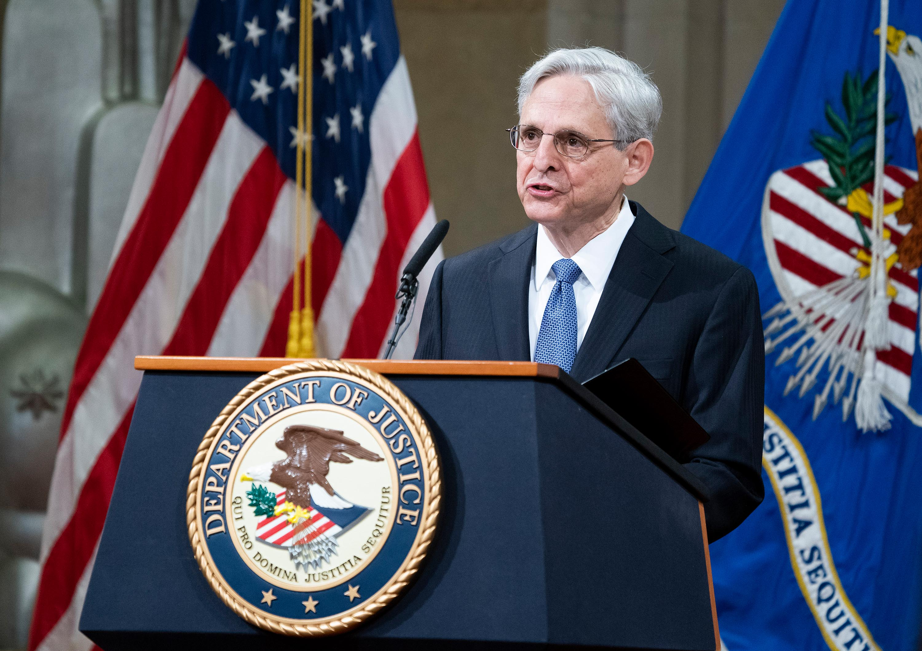Attorney General Garland promises to prioritize investigating police departments that commit civil rights violations
