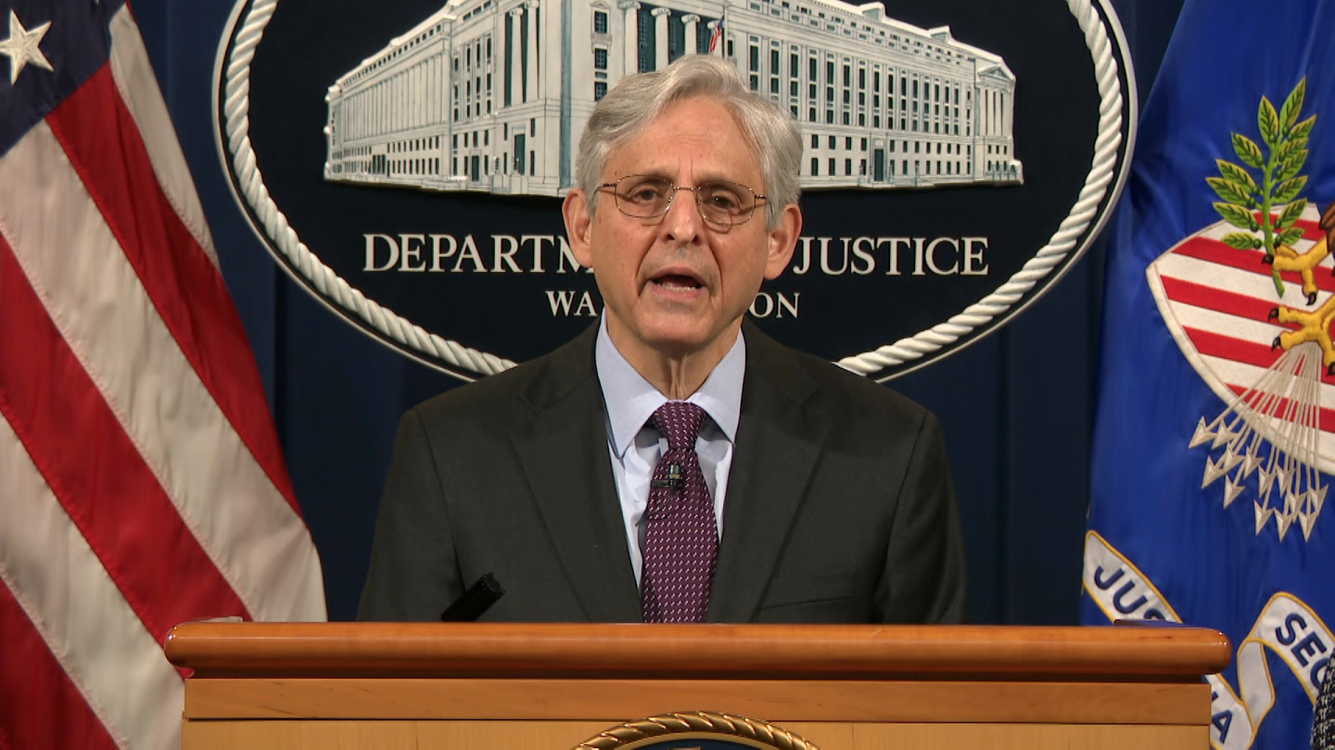Attorney General Garland and Homeland Security Secretary Mayorkas tout anti-domestic terror efforts