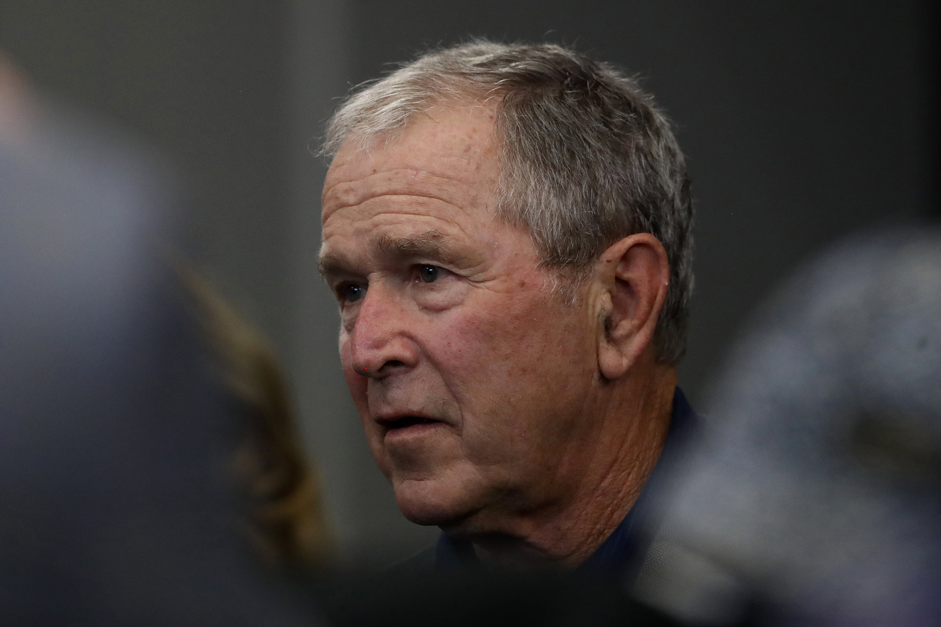 Bush calls on Congress to tone down 'harsh rhetoric' about immigration