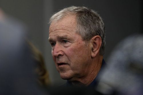 Image for Bush calls on Congress to tone down 'harsh rhetoric' about immigration