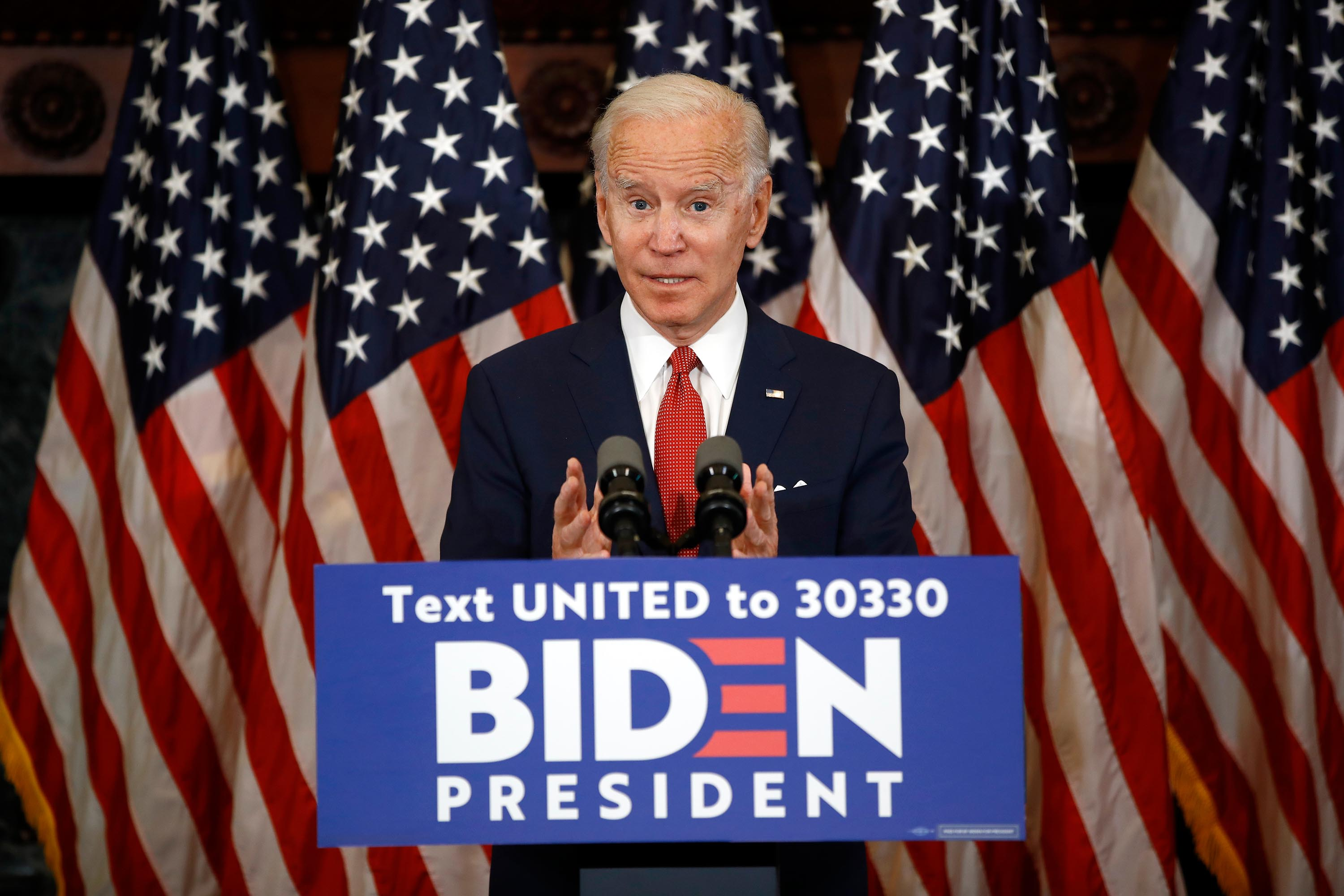 Plans being discussed for Joe Biden to attend George Floyd's funeral