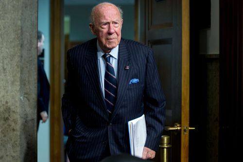 Image for Former Secretary of State George Shultz dead at age 100
