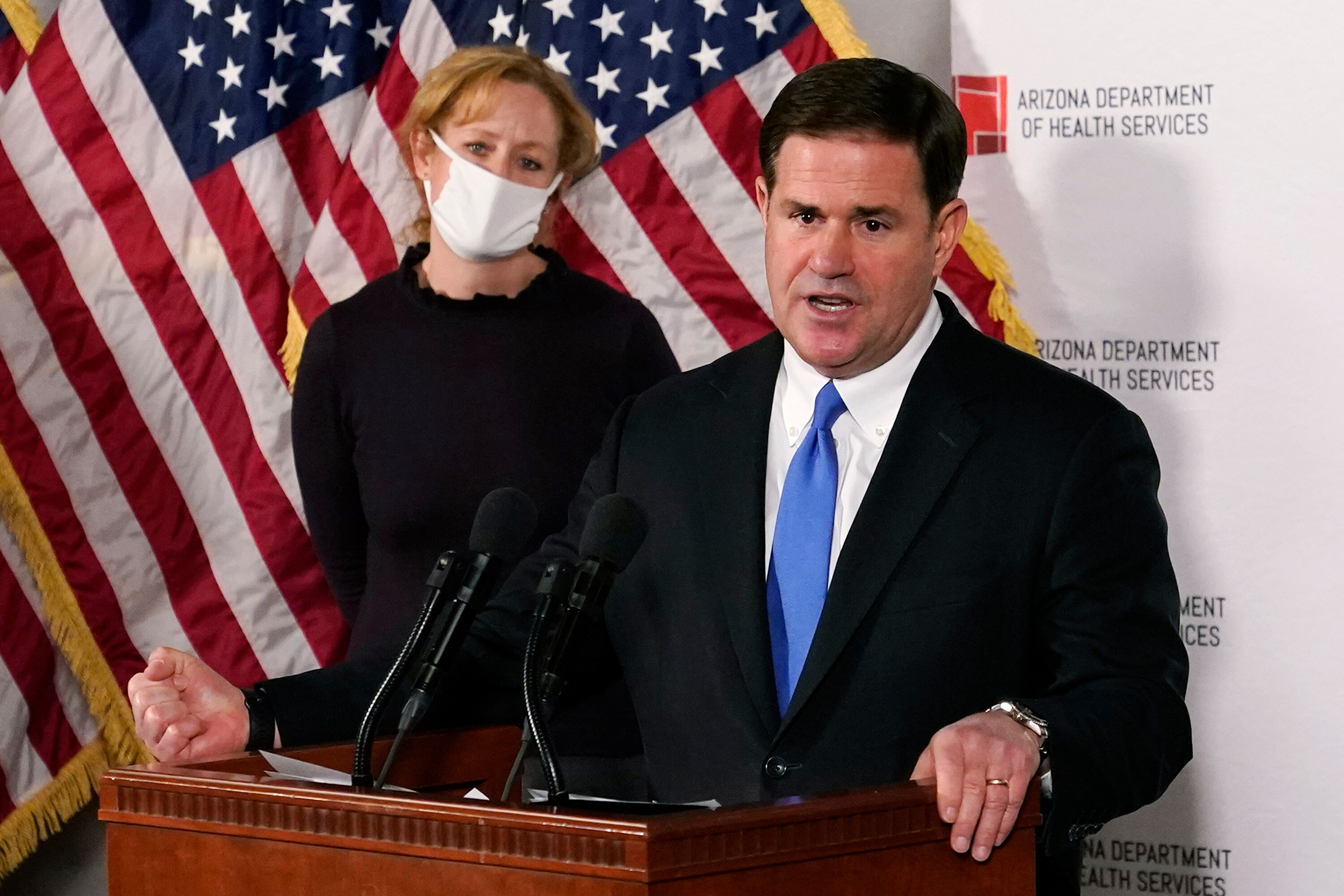 Treasury Department warns Arizona governor over using federal Covid funds for anti-mask school programs