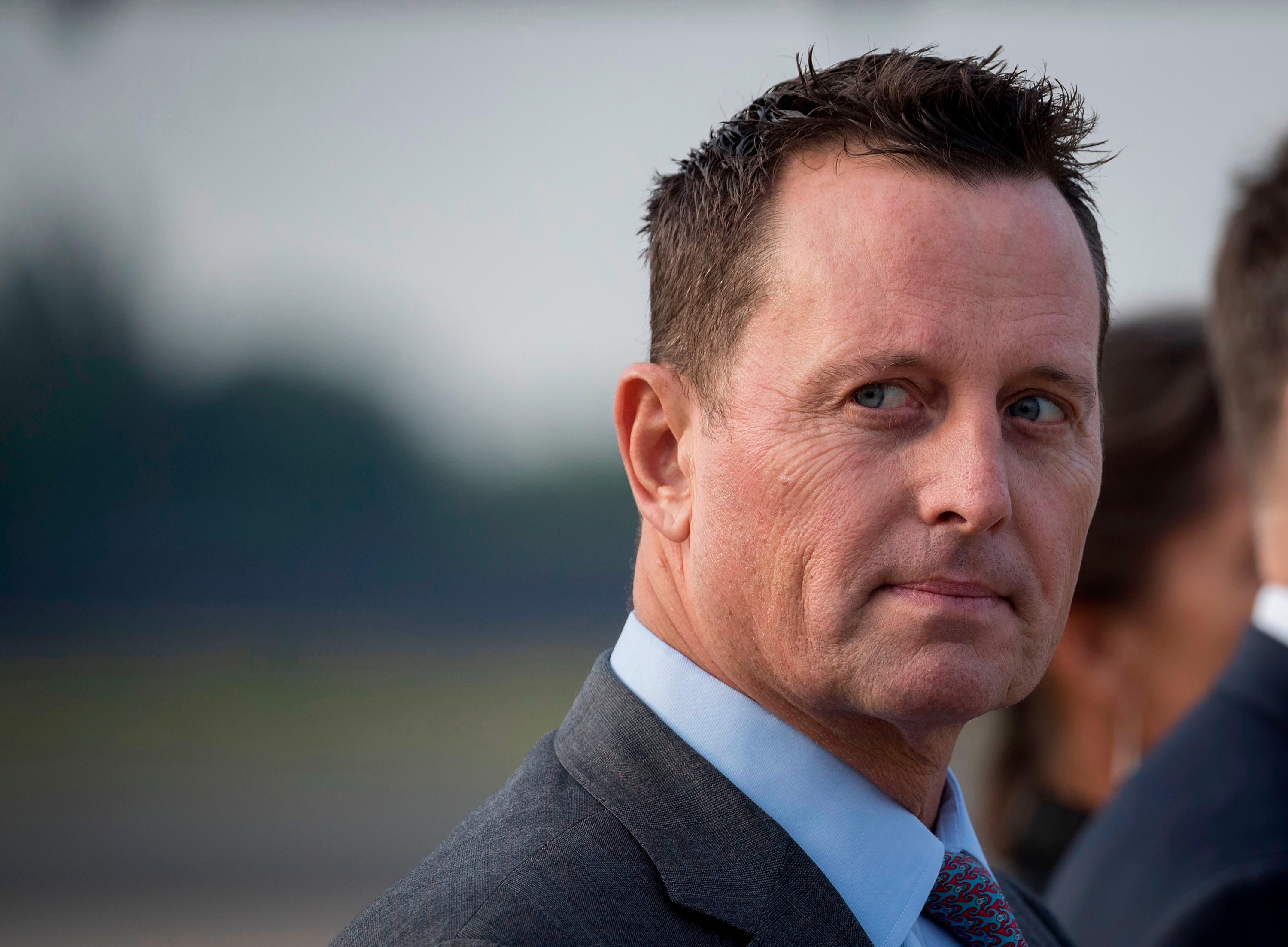 Grenell takes parting shot at Democrats as he exits top intelligence job