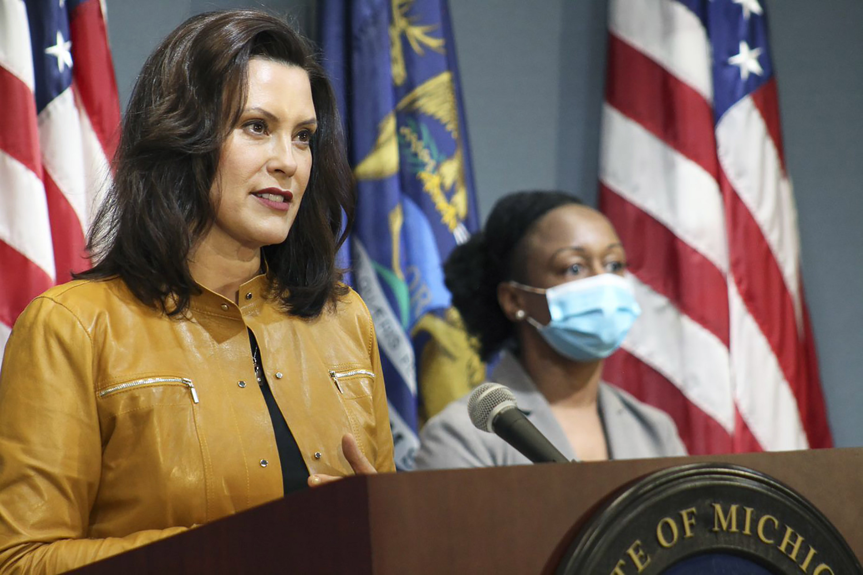 Whitmer faces backlash over husband's 'failed attempt at humor' about their boat