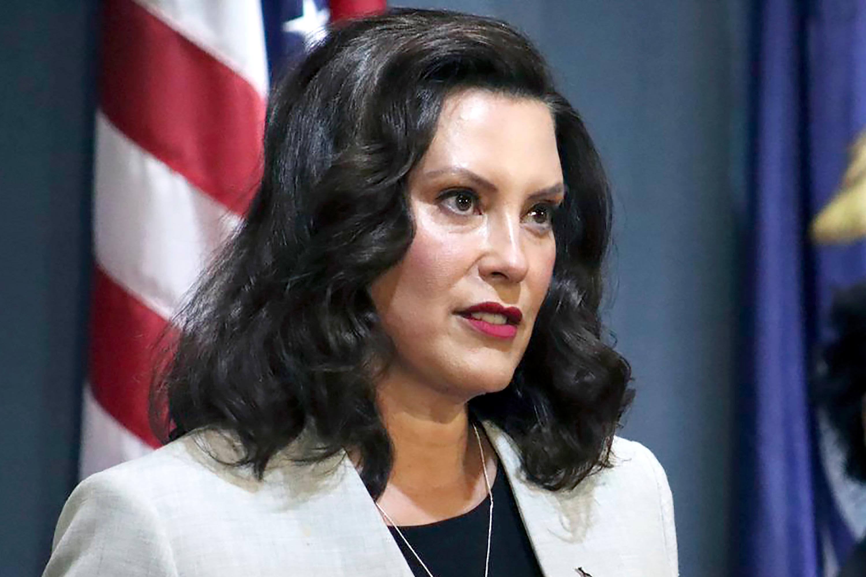 Whitmer says Trump 'inciting' domestic terrorism as Trump campaign adviser dismisses President's incendiary rhetoric as 'having fun' at rallies