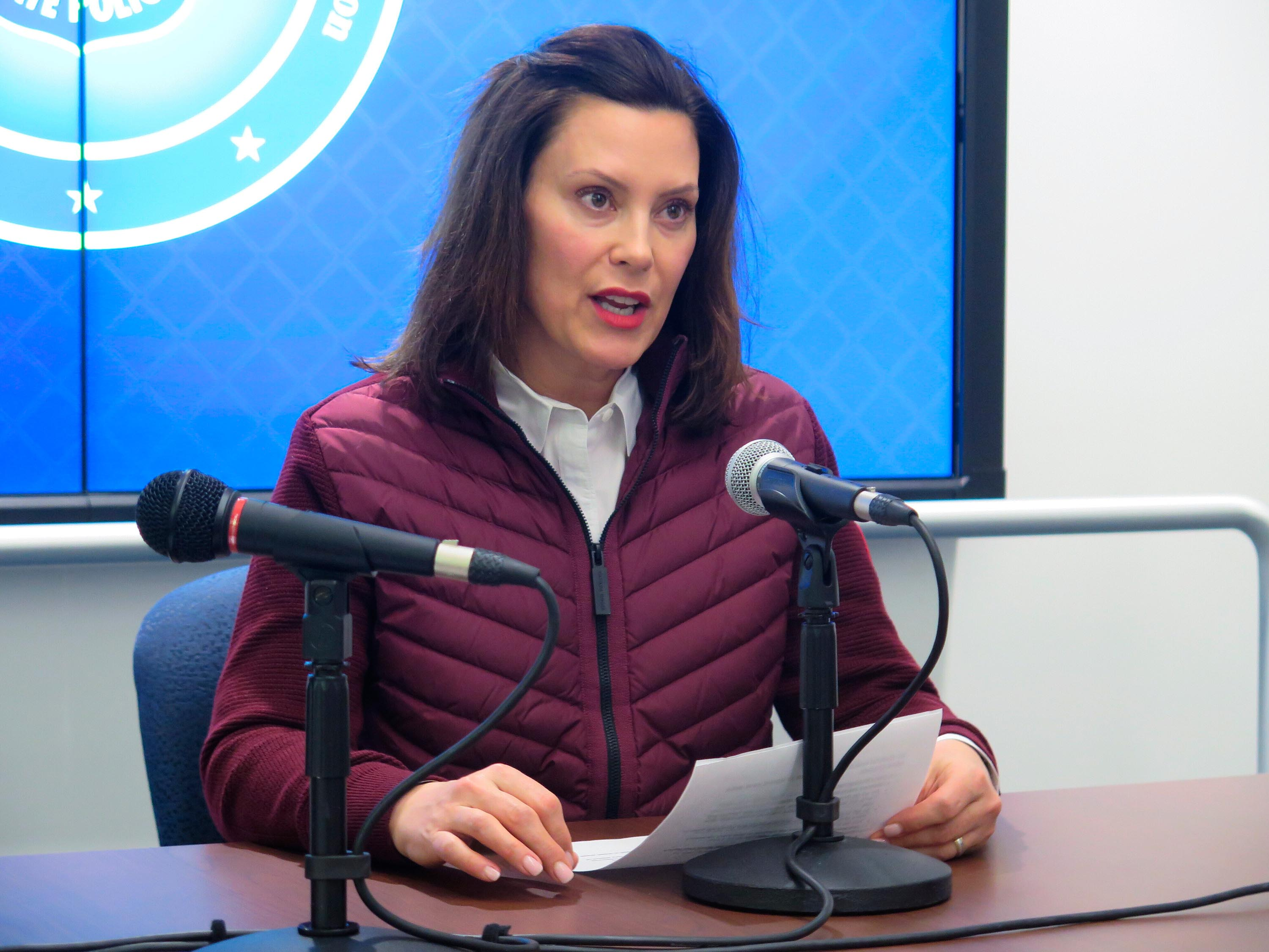 'That governor is me': Gretchen Whitmer takes on Trump as coronavirus cases rise in Michigan