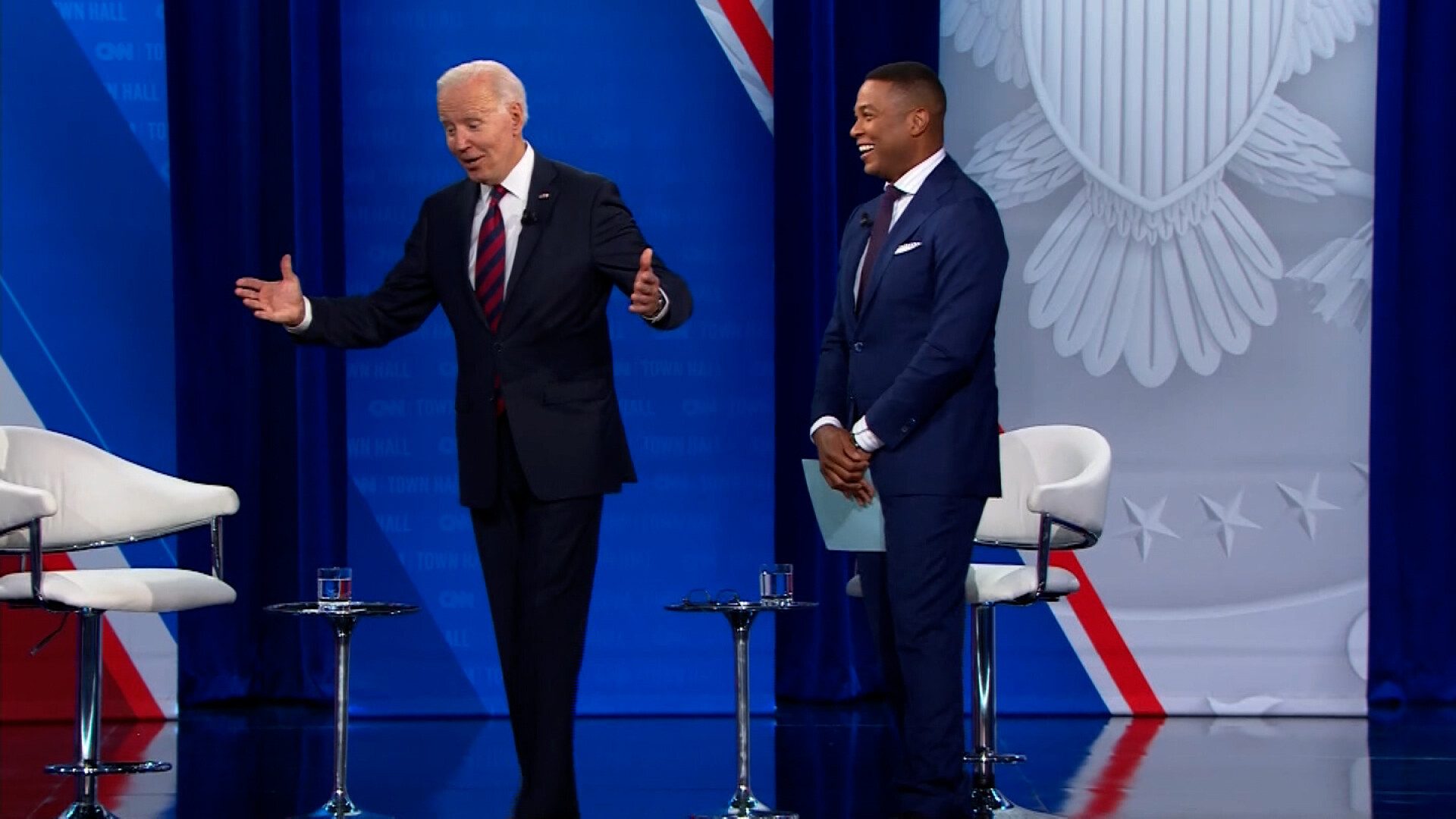 Biden: The first time they played 'Hail to the Chief' I asked, 'Where is he?'