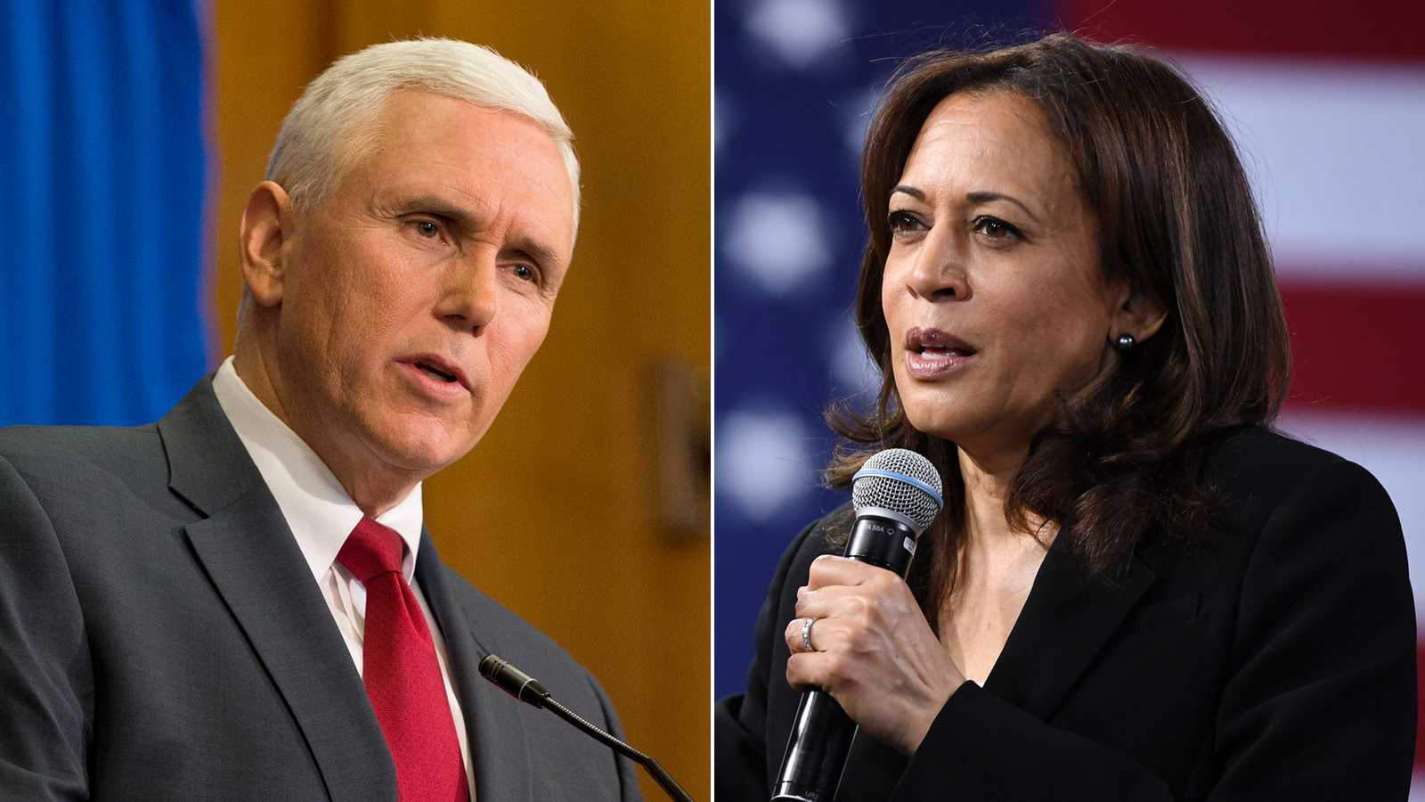 Kamala Harris and Mike Pence scheduled to face off at October debate