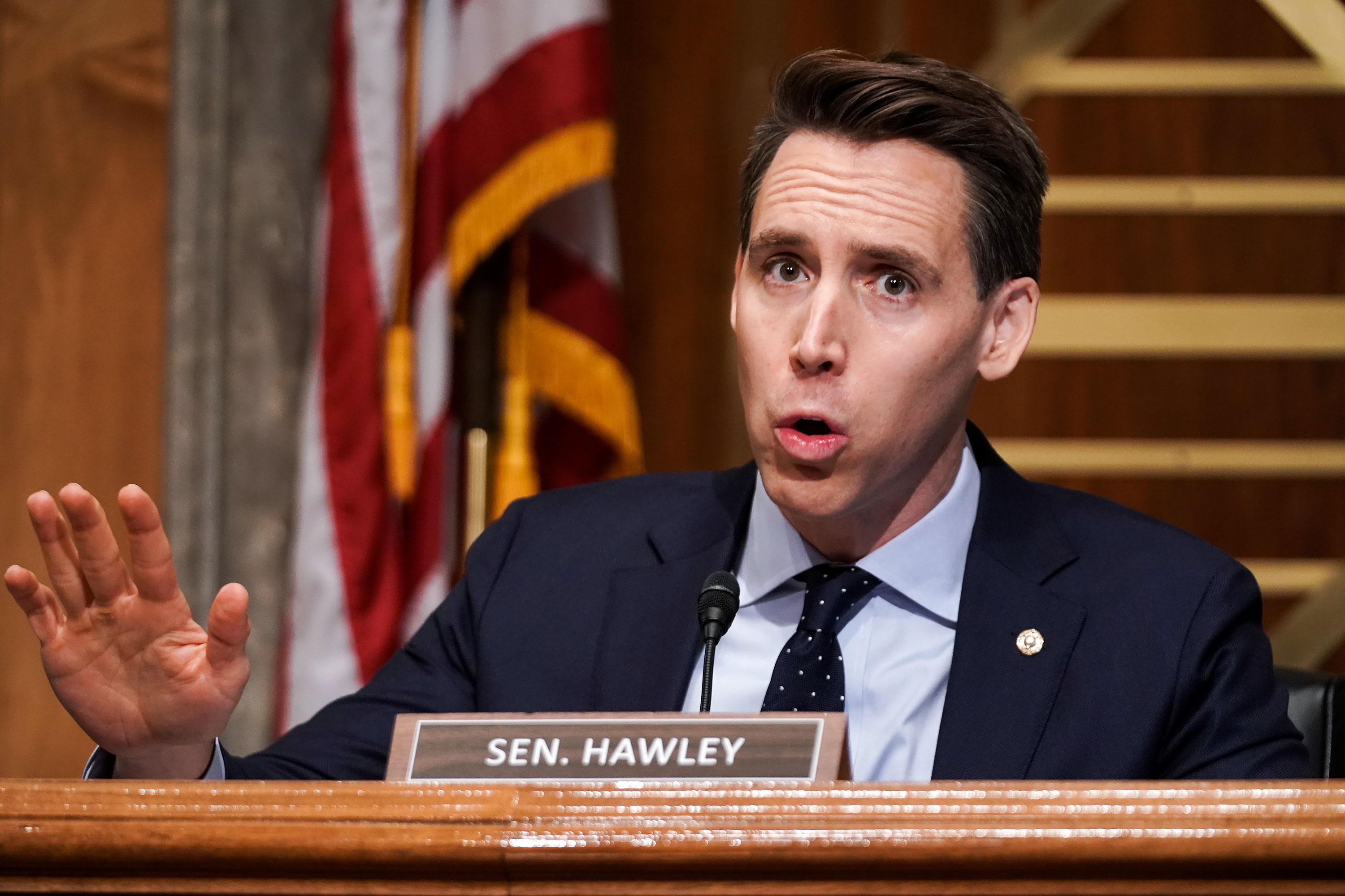 Hawley defends opposition to every Biden Cabinet nominee: 'I take them one at a time'