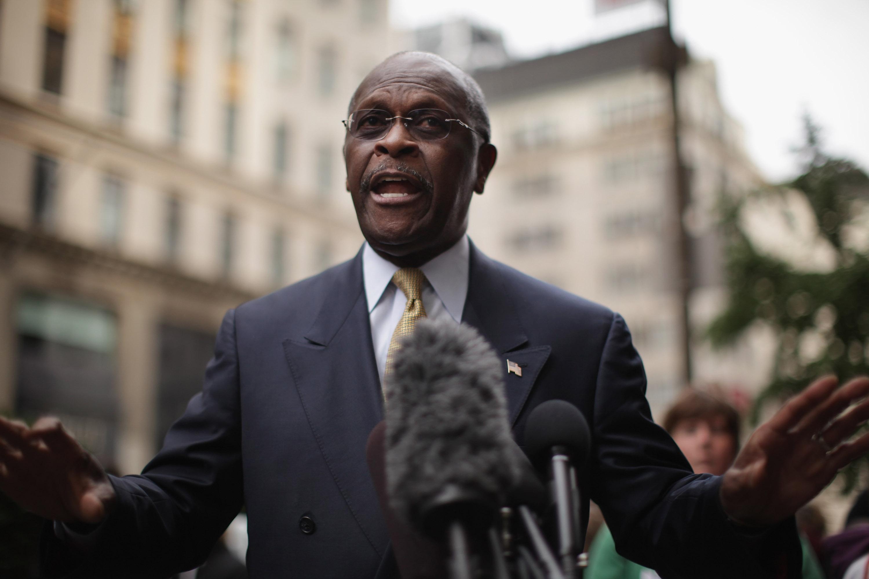 Herman Cain is receiving treatment for coronavirus at an Atlanta hospital