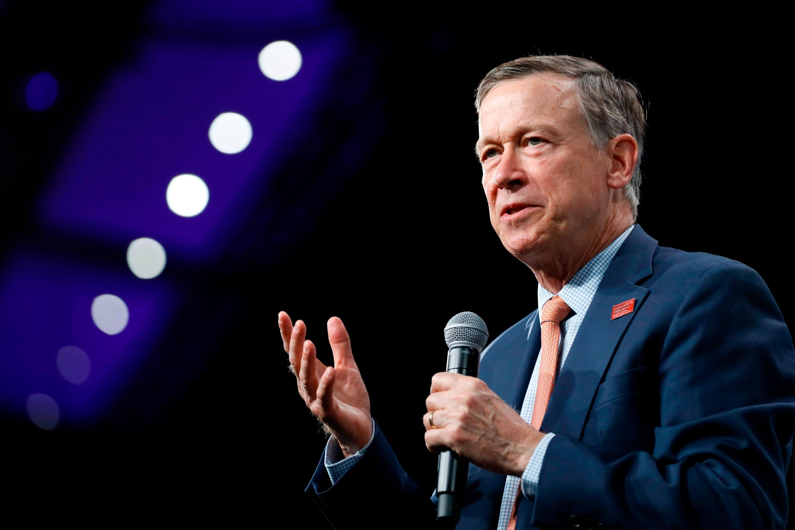 Former Colorado Gov. John Hickenlooper launches campaign for Senate