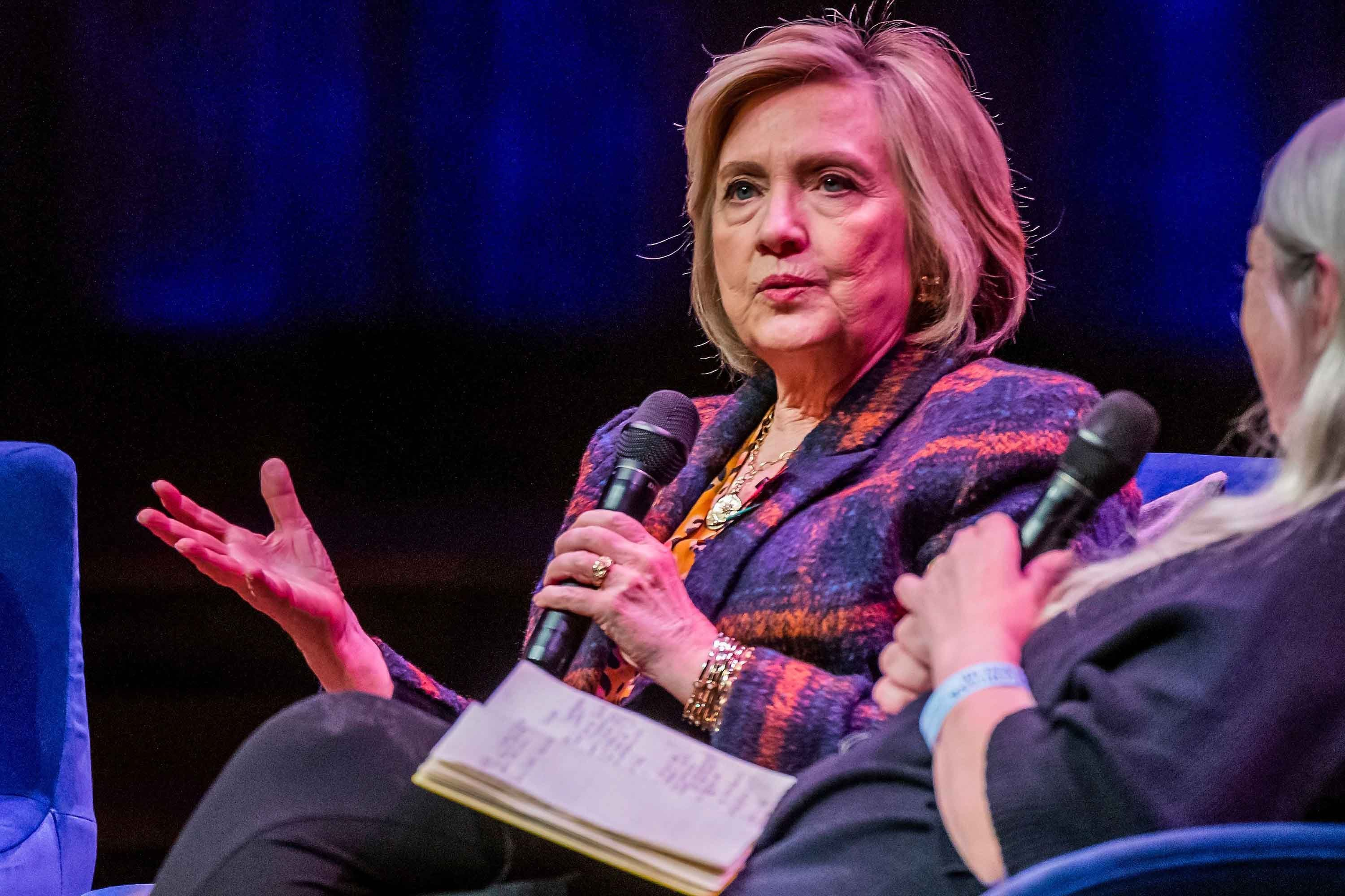 Hillary Clinton says 'many, many, many people' pressuring her to consider 2020 presidential run