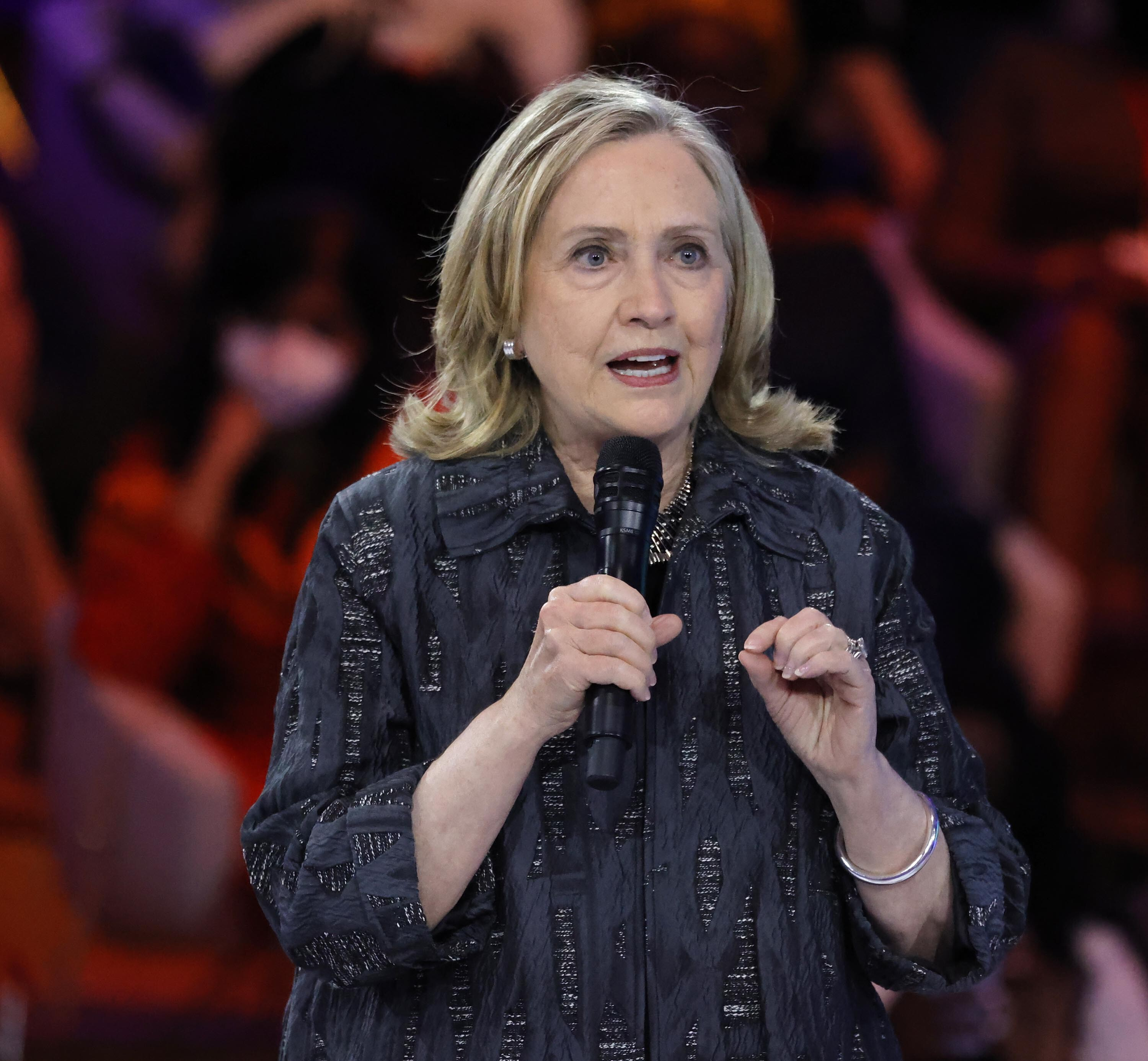 Hillary Clinton: 'We are witnessing a concerted attempt to destabilize the democratic process'