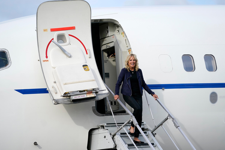 Jill Biden will travel to Japan for the Olympics
