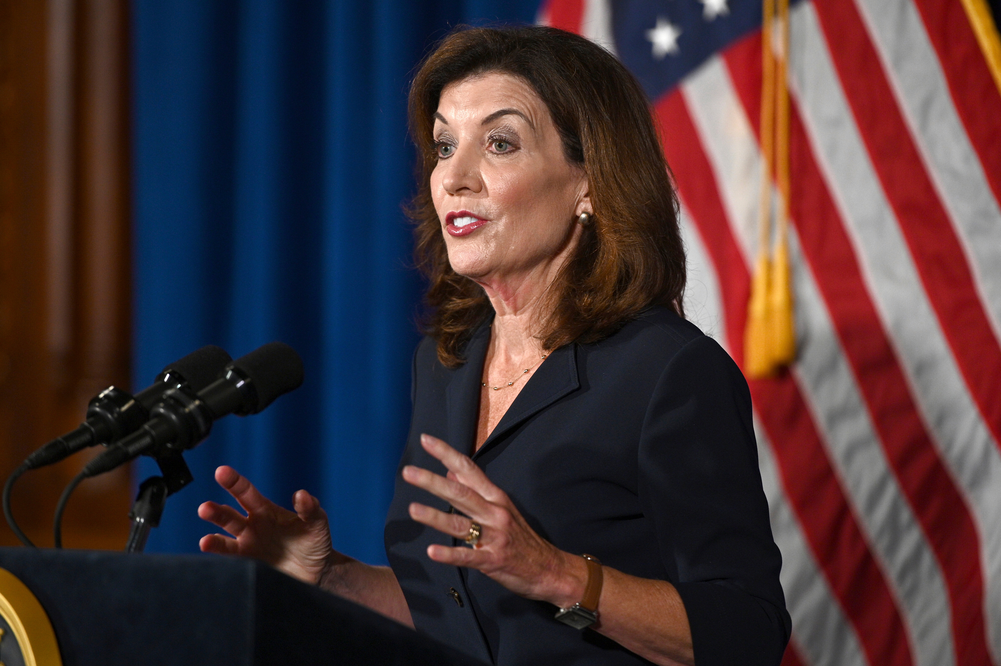 Cuomo successor Lt. Gov. Kathy Hochul distances herself in first comments since his resignation