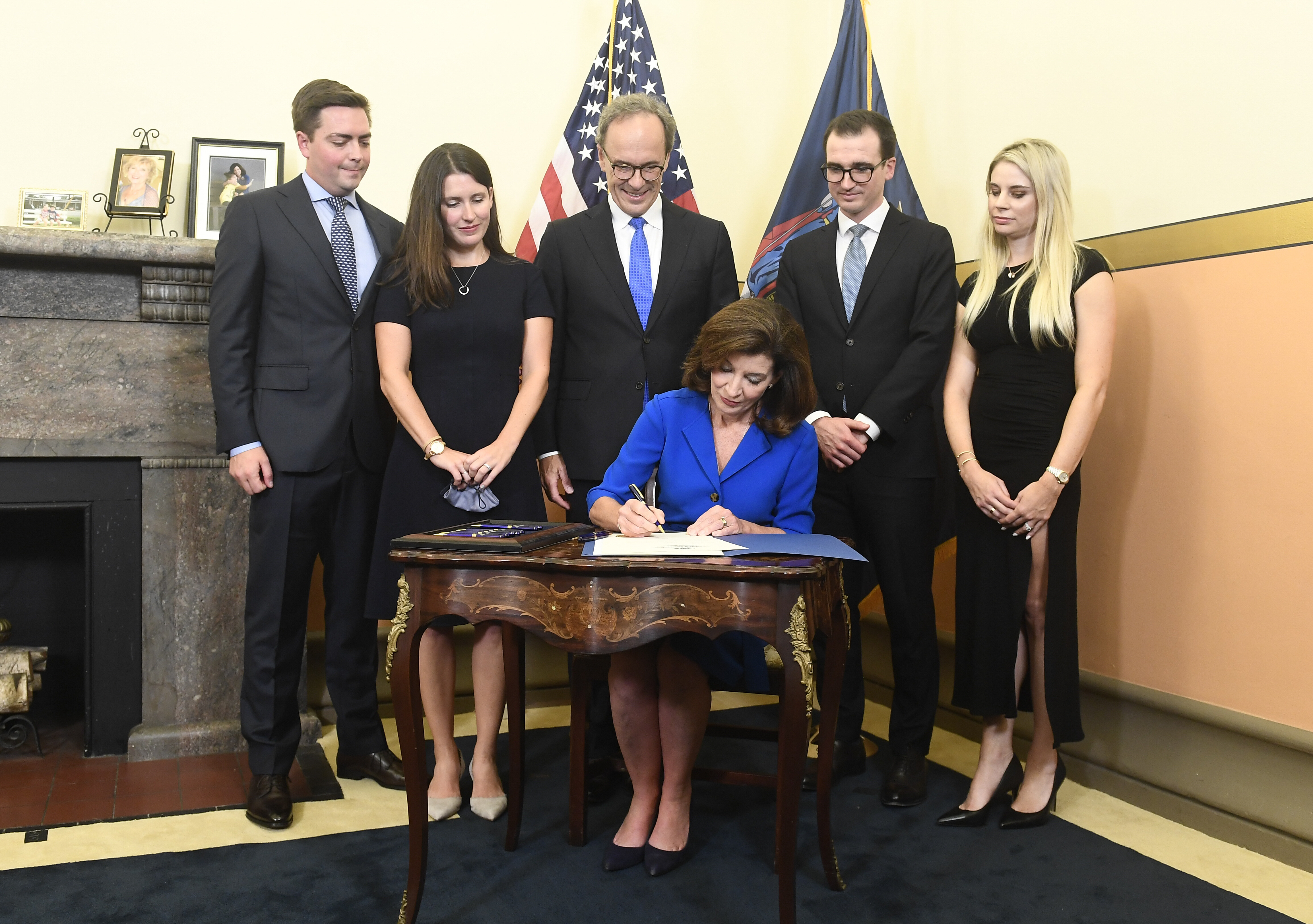 Kathy Hochul becomes governor of New York as Cuomo leaves in disgrace