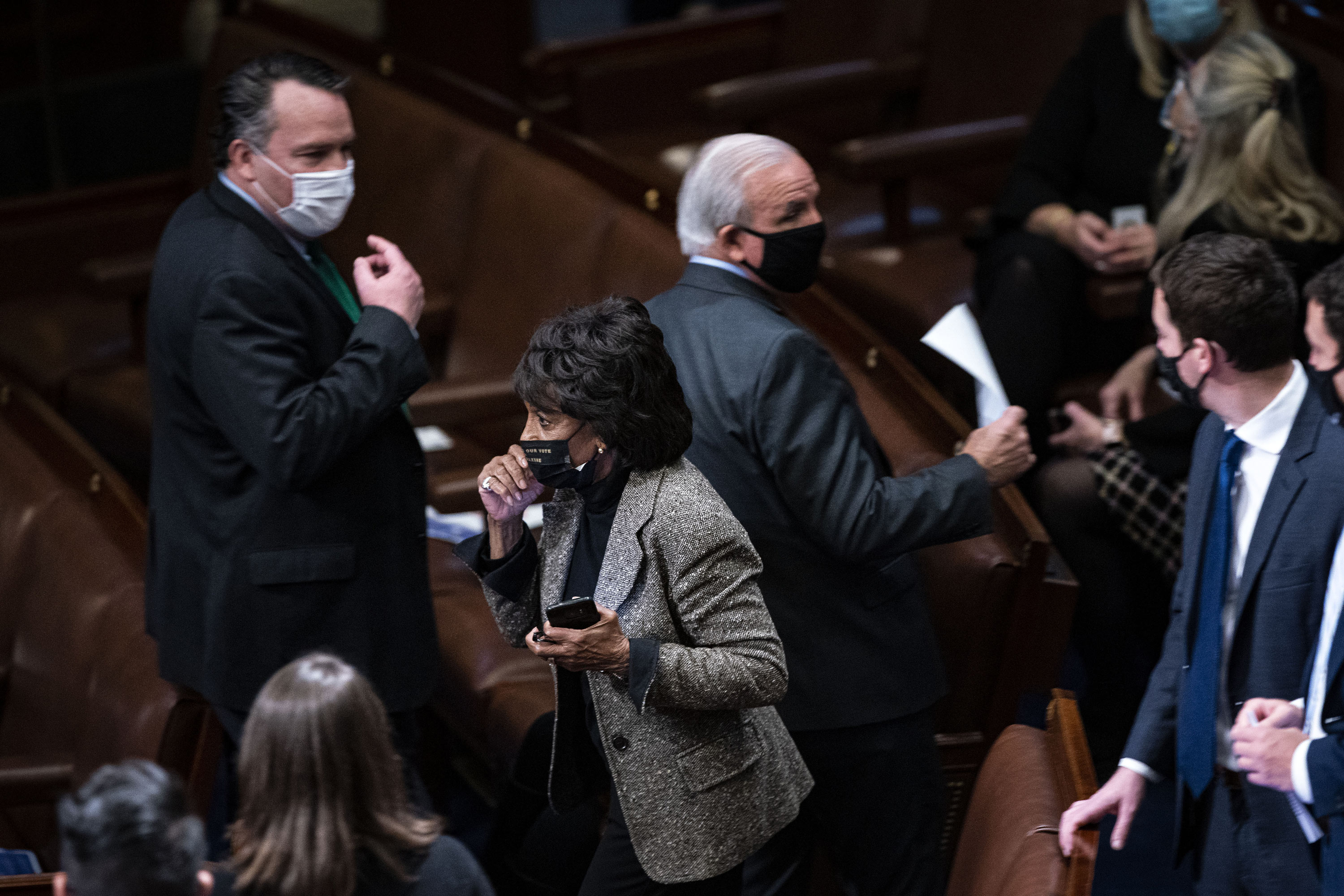 Face masks no longer mandated on House floor for those fully vaccinated