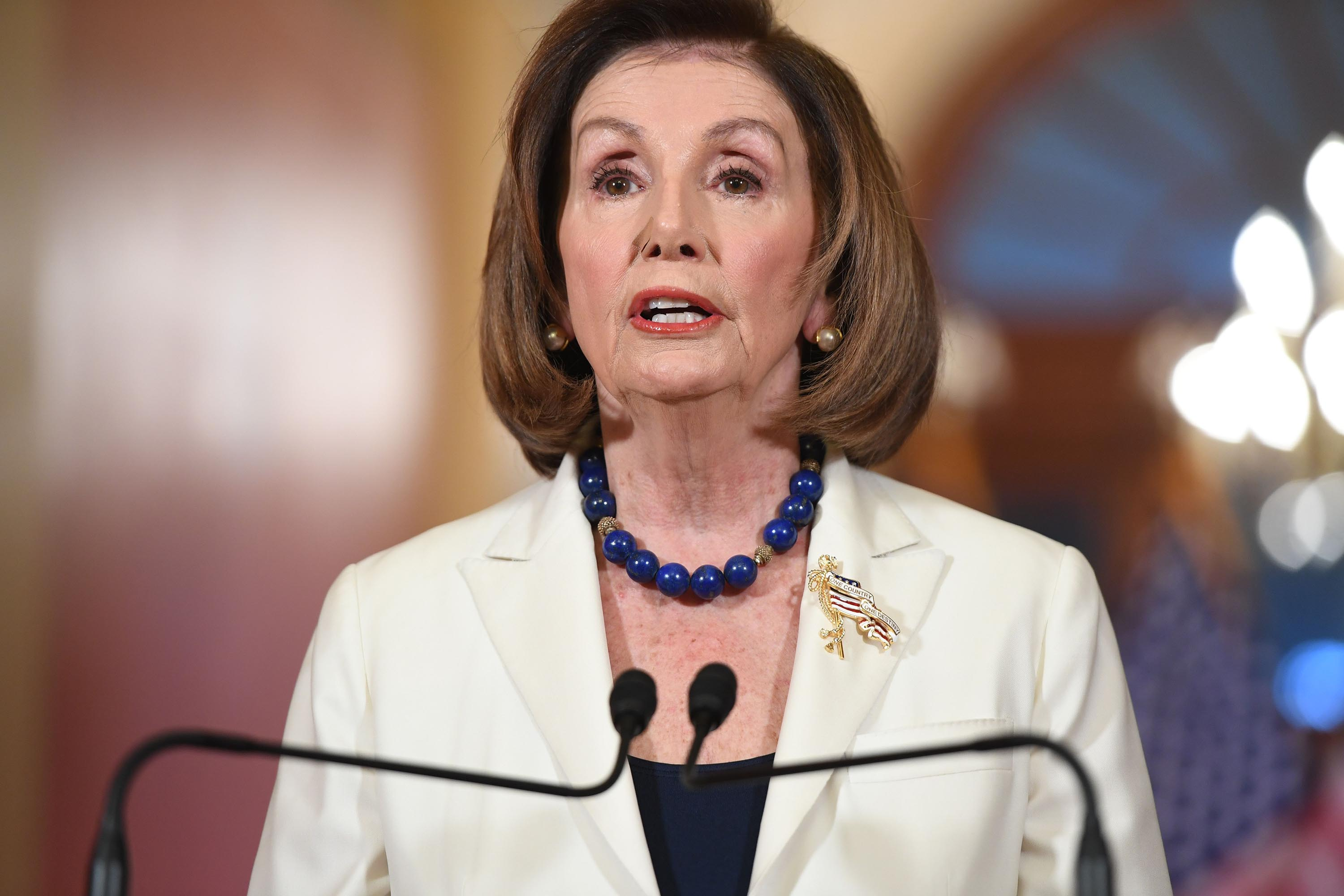 Pelosi: 'No choice' but to move forward with articles of impeachment