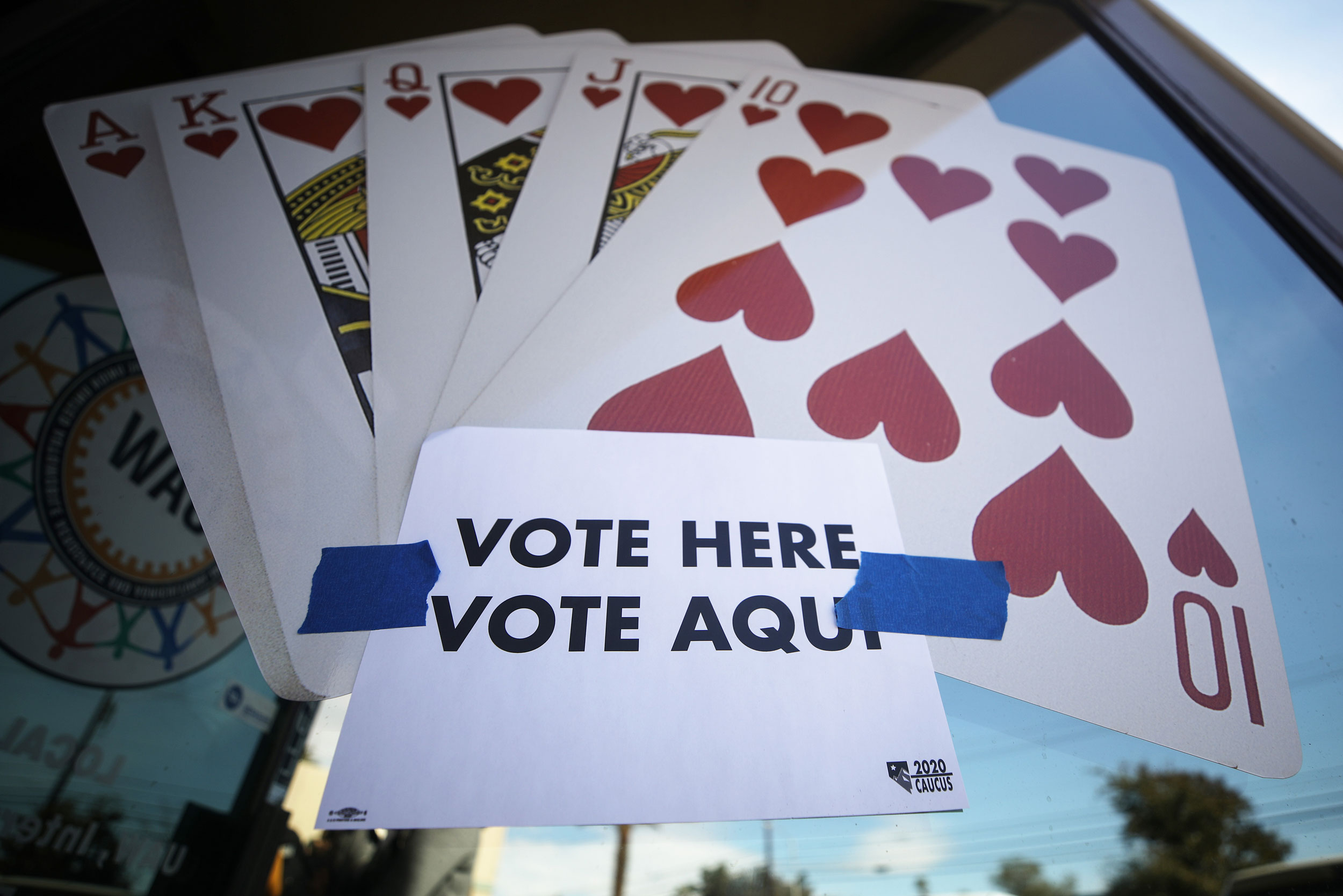 Here's how the Nevada caucuses work