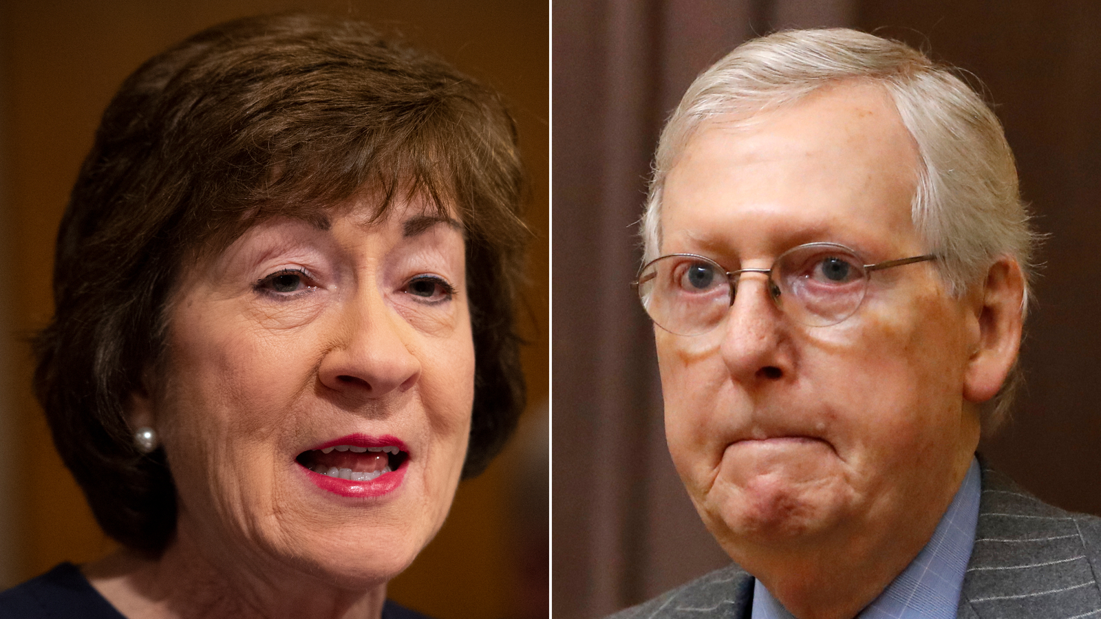 McConnell tries to set trial rules as pressure building on vulnerable senators