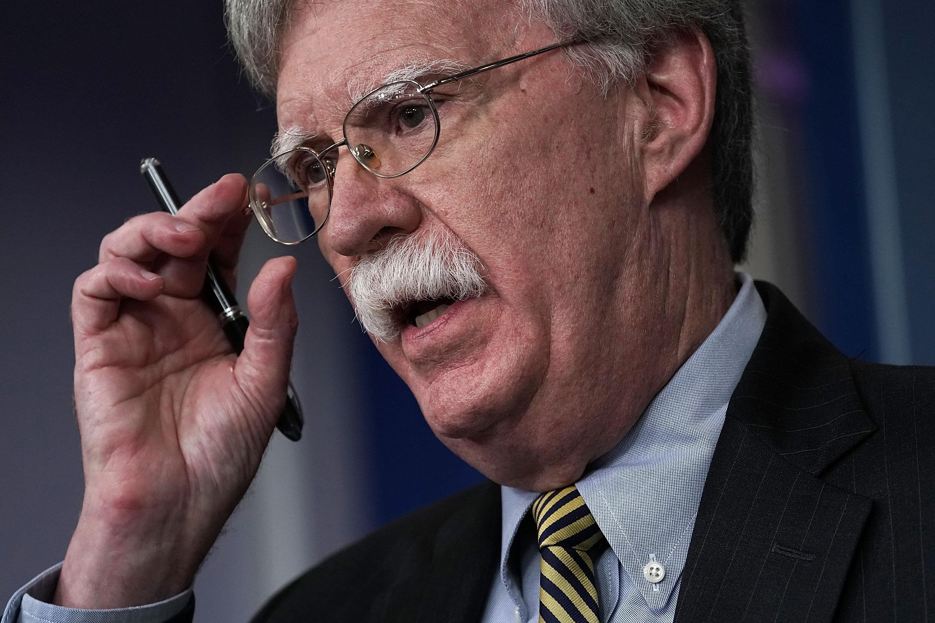 Bolton reemerges after public hiatus charging White House froze his Twitter account