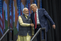 Trump is focused on crowd size as he heads to India for state visit