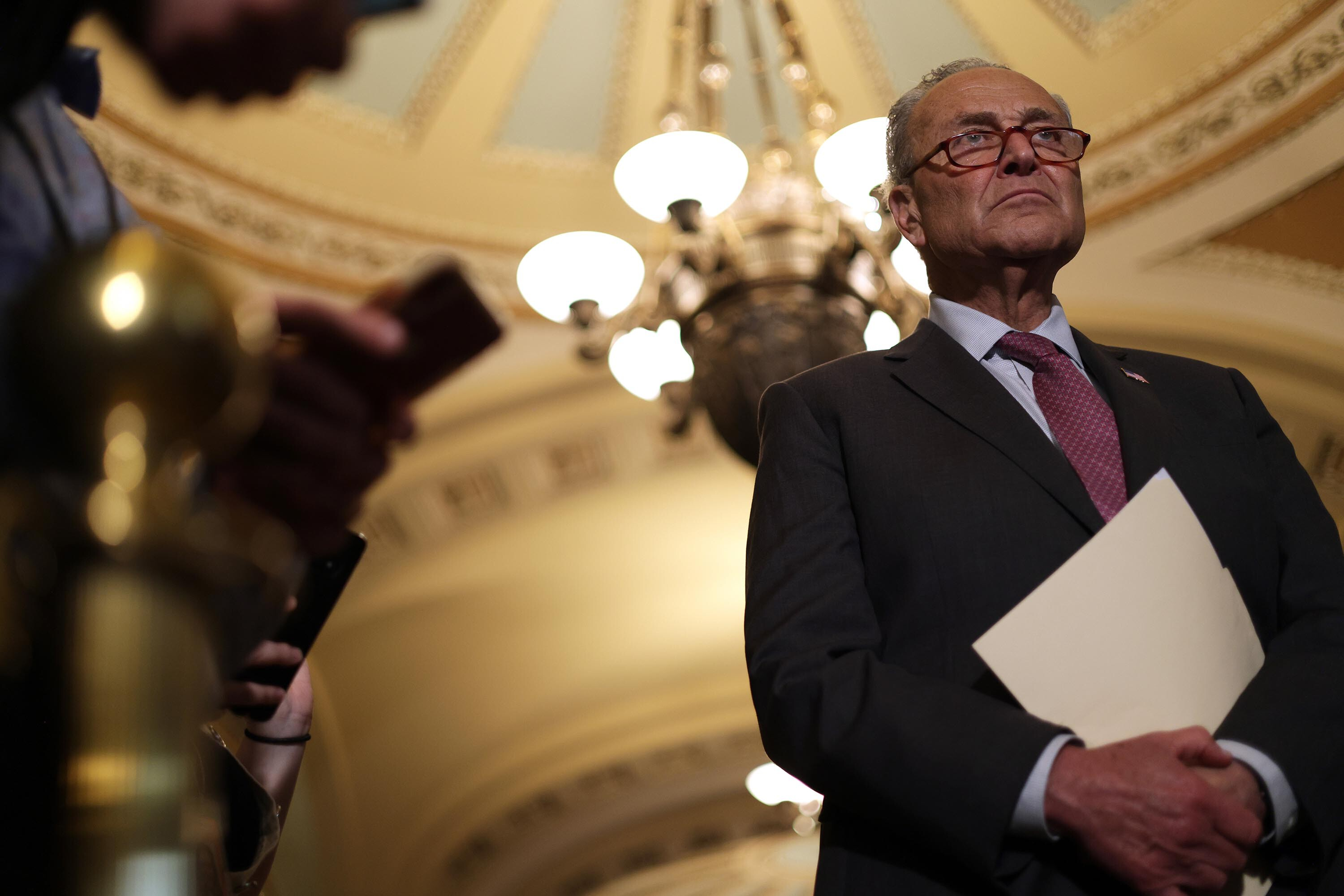 Schumer announces bipartisan group has finalized legislative text on infrastructure bill