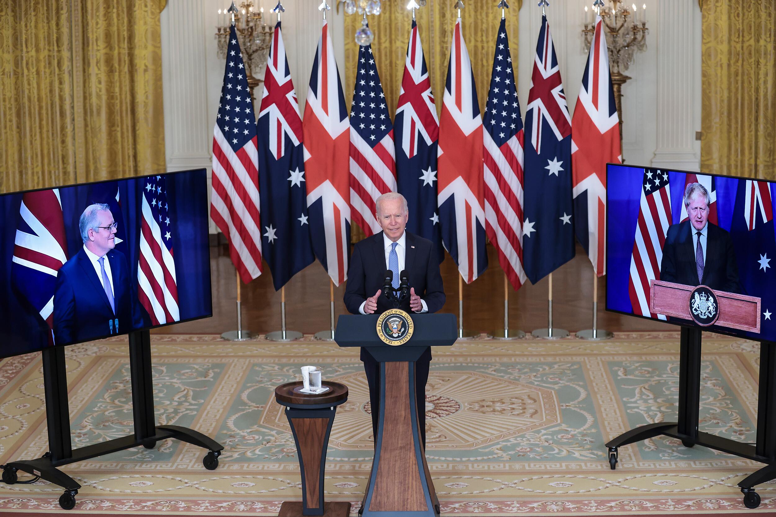 Inside the creation of the US-Australia submarine deal