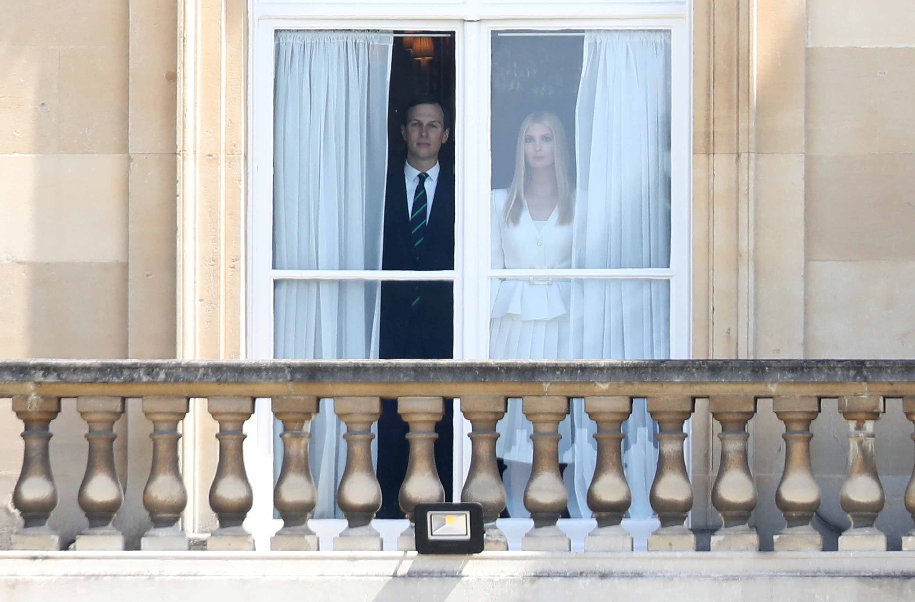 Ivanka and Jared publicly missing in action again amid Trump's 'disloyal' claim