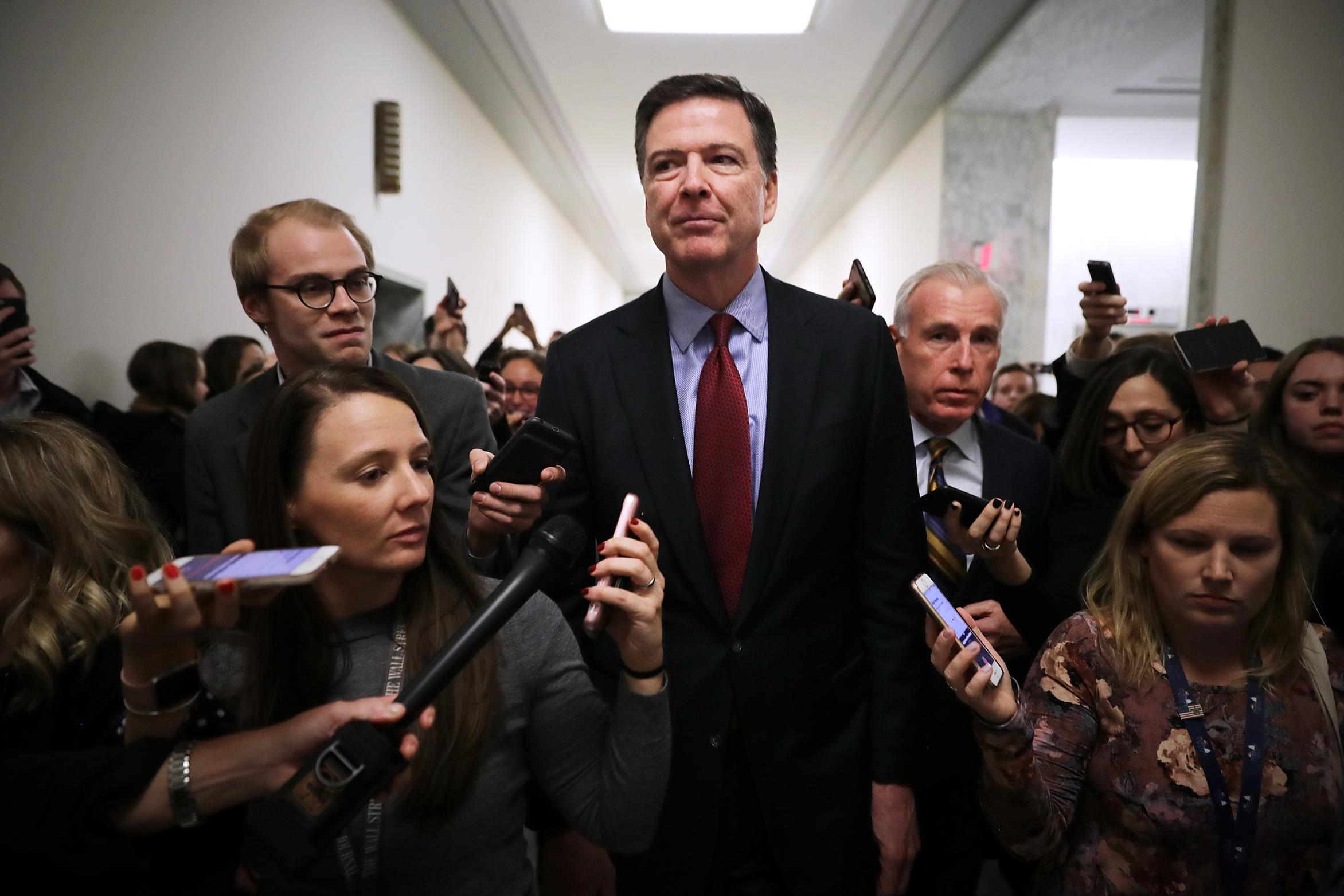 Comey knocks Barr's attacks on the Russia probe: 'I have no idea what on Earth he is talking about'