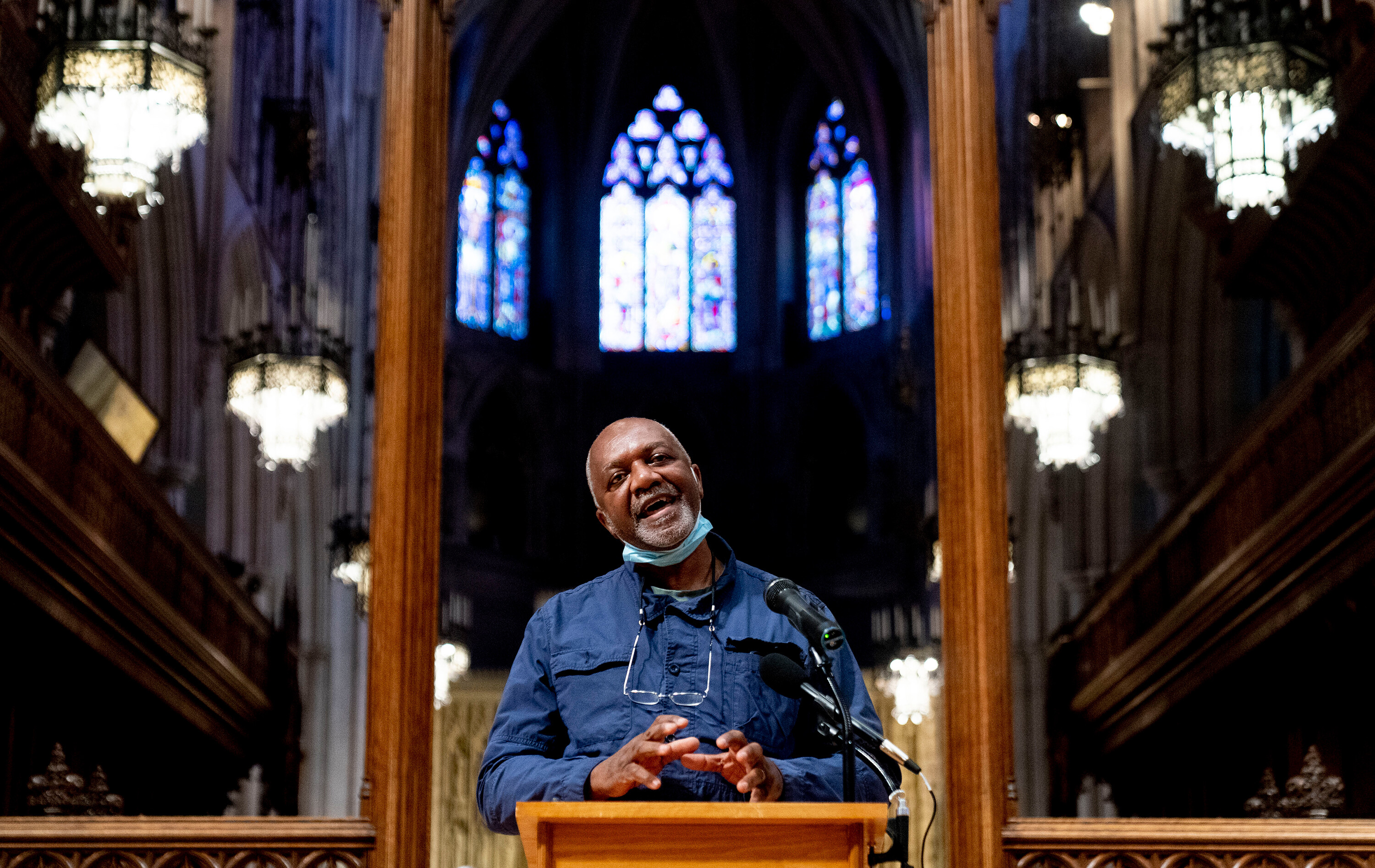 Kerry James Marshall to create 'racial-justice themed' windows for Washington National Cathedral