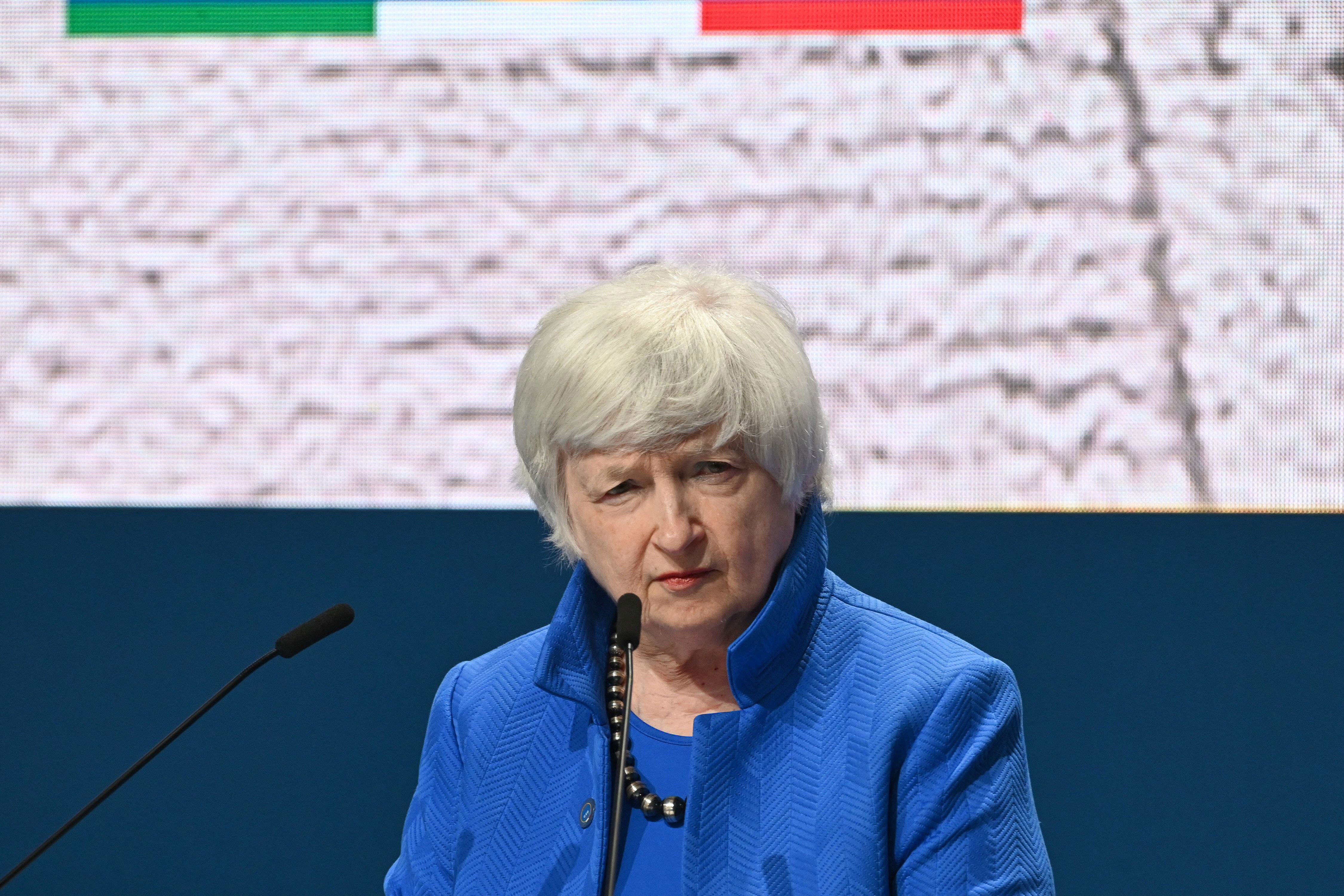 US Treasury Secretary Yellen urges G20 leaders to step up vaccine-sharing support