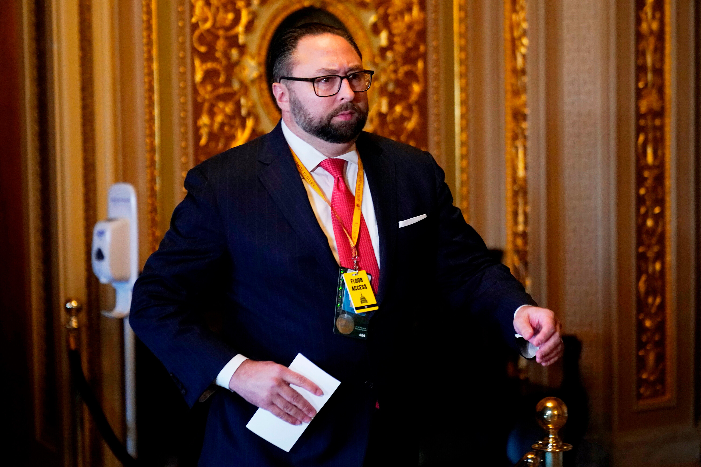 Former Trump adviser Jason Miller briefly detained in Brazil