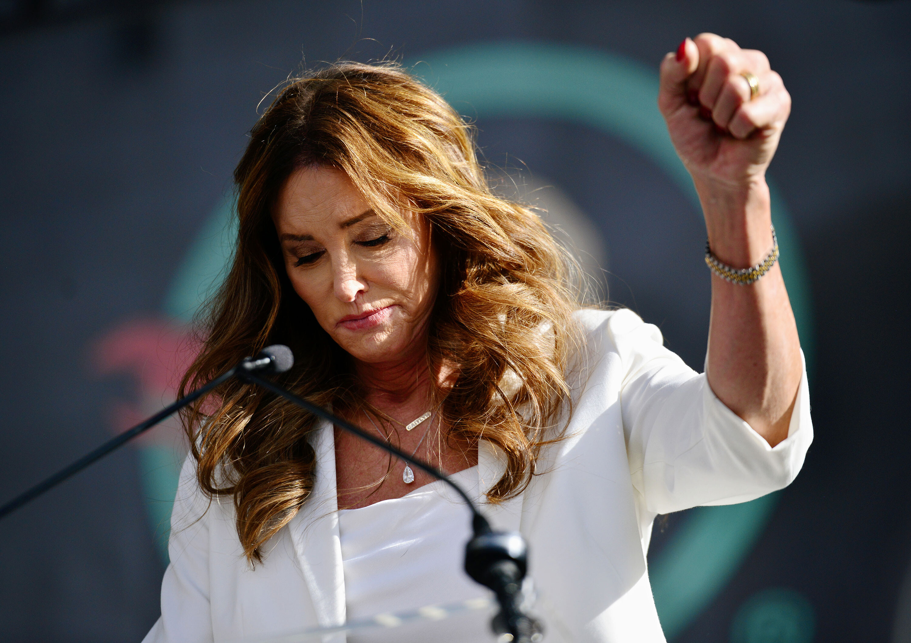 Caitlyn Jenner defends out-of-state travel ahead of California recall election