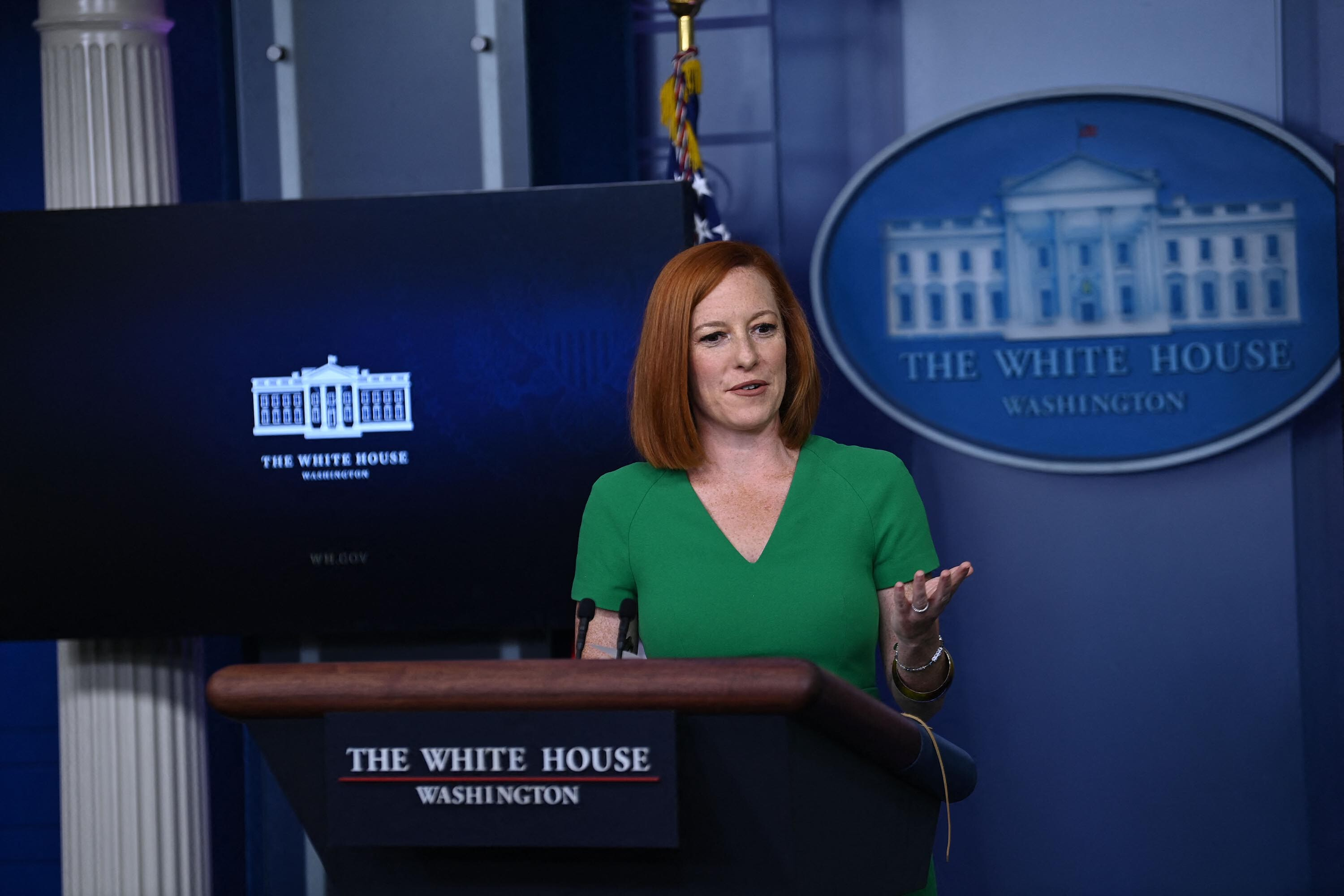 Watchdog files Hatch Act complaint against Jen Psaki over comments on Virginia governor's race