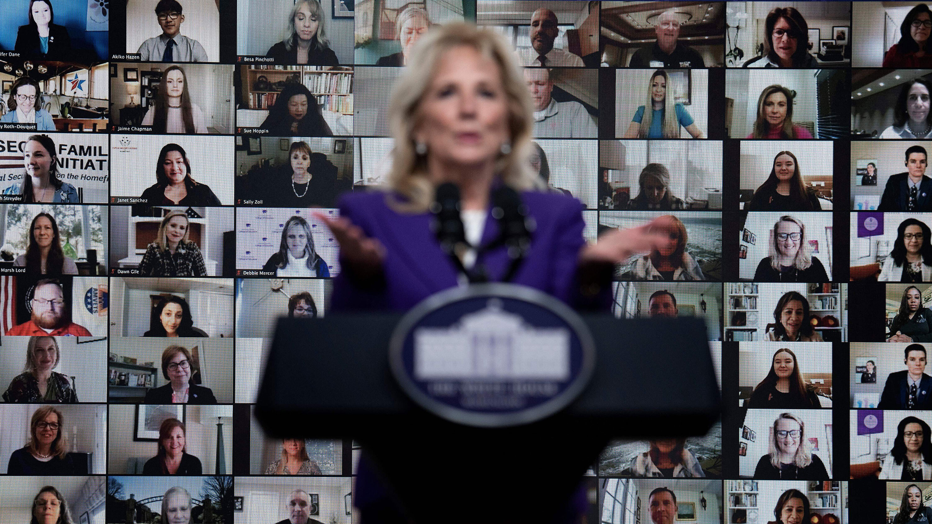 First lady Jill Biden's team 'assessing the feasibility' of attending the Tokyo Olympics