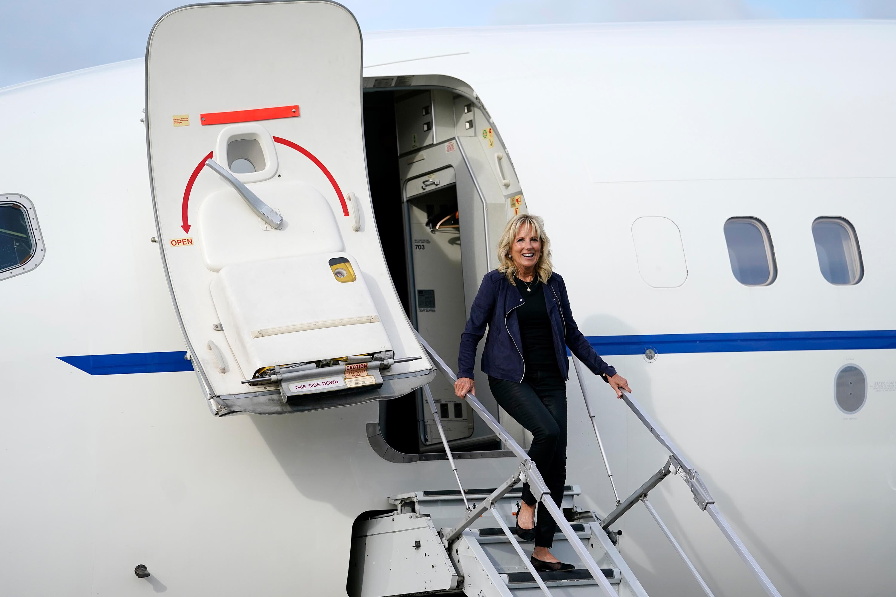 Jill Biden heads to Tokyo amid growing concern about Covid and the Olympics