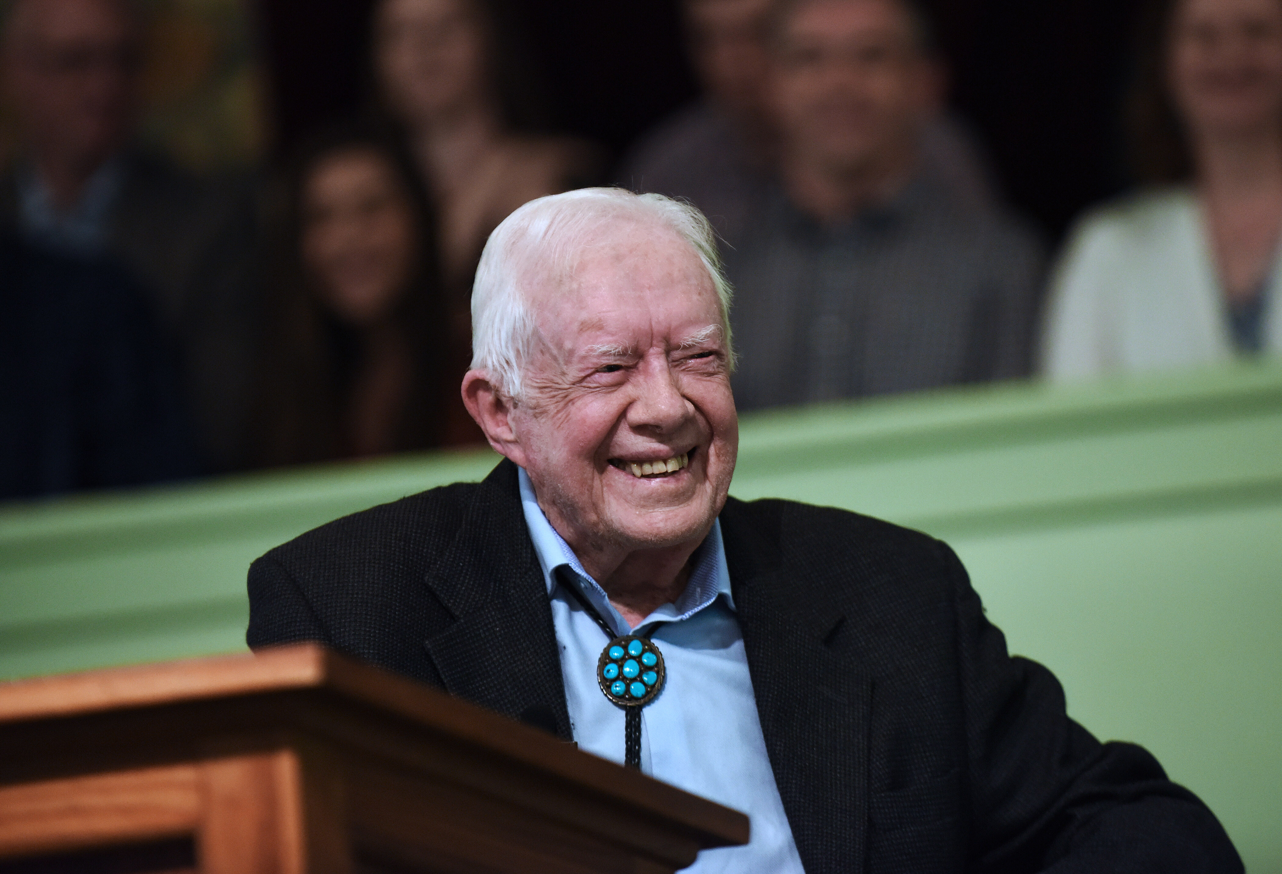 Former President Jimmy Carter celebrates his 97th birthday today