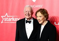 Jimmy and Rosalynn Carter just became the longest-married presidential couple