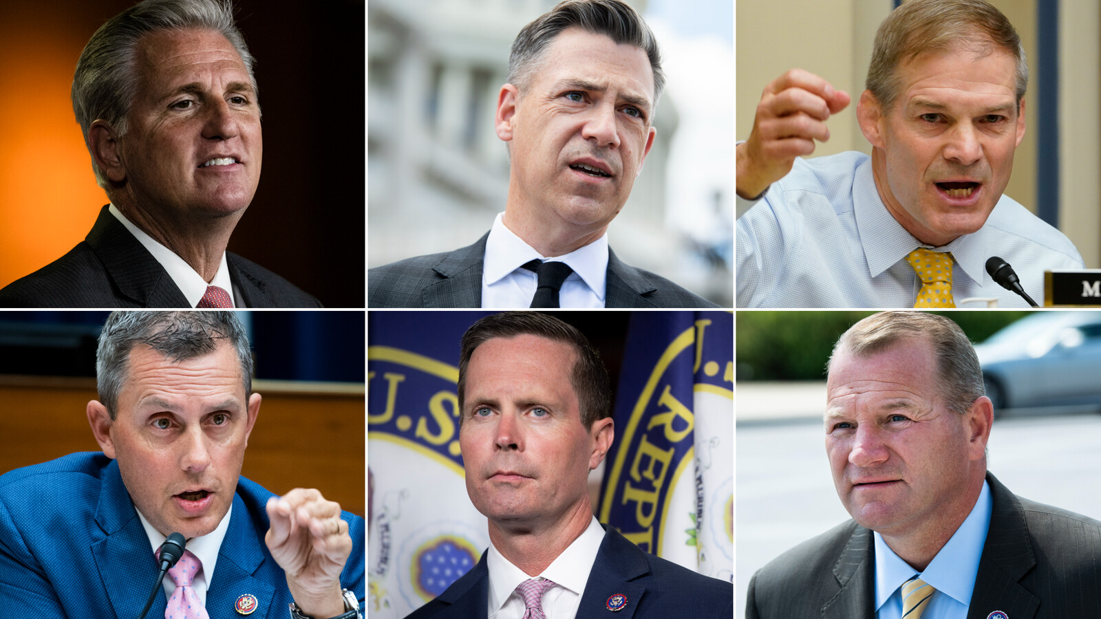Jim Jordan among 5 House Republicans selected by McCarthy for January 6 select committee