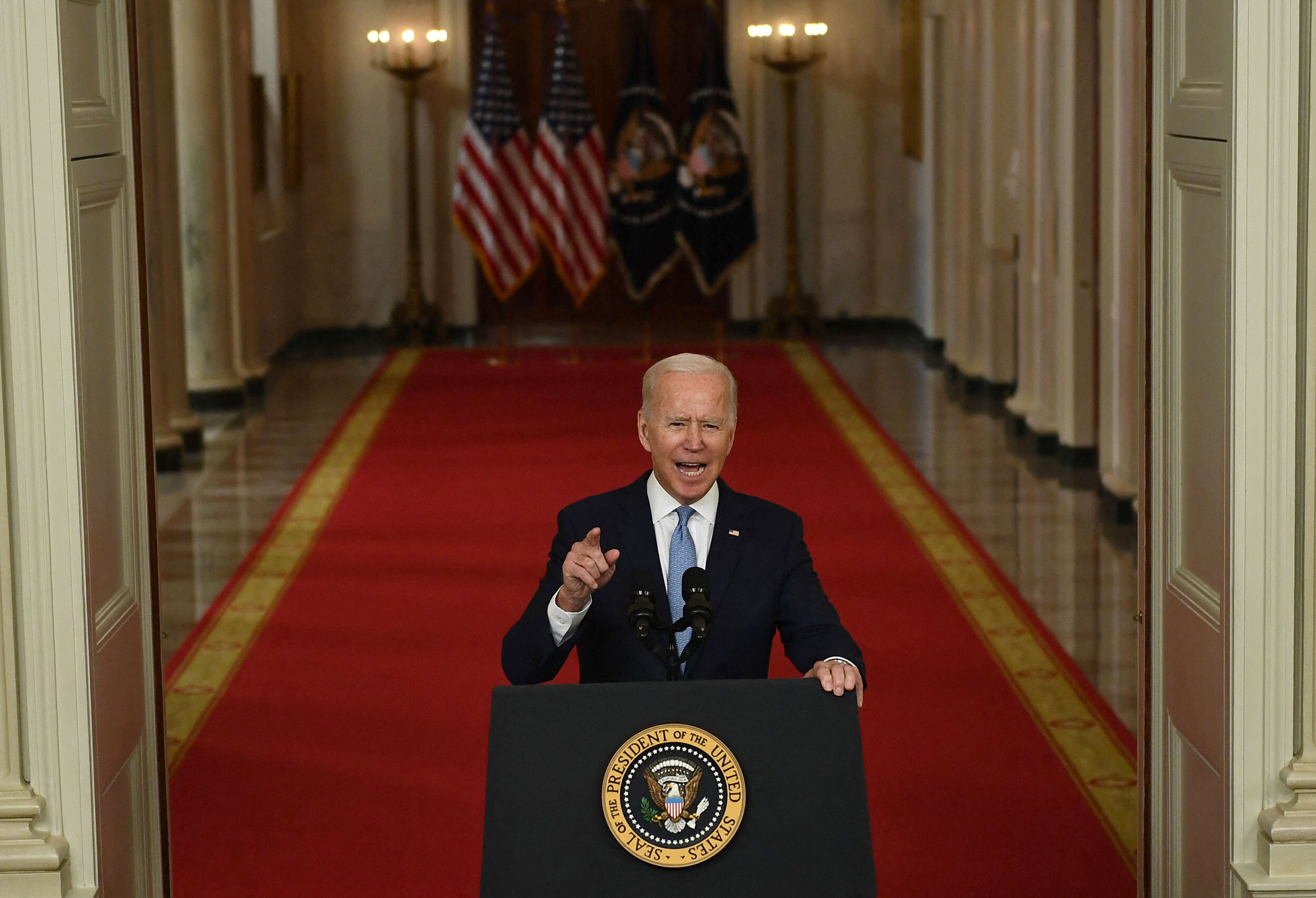 Biden's first August as president shreds his momentum and tosses daunting new challenges in his path