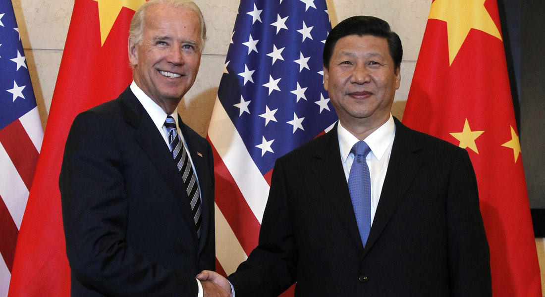 Glad-handing Biden begins foreign diplomacy with the telephone