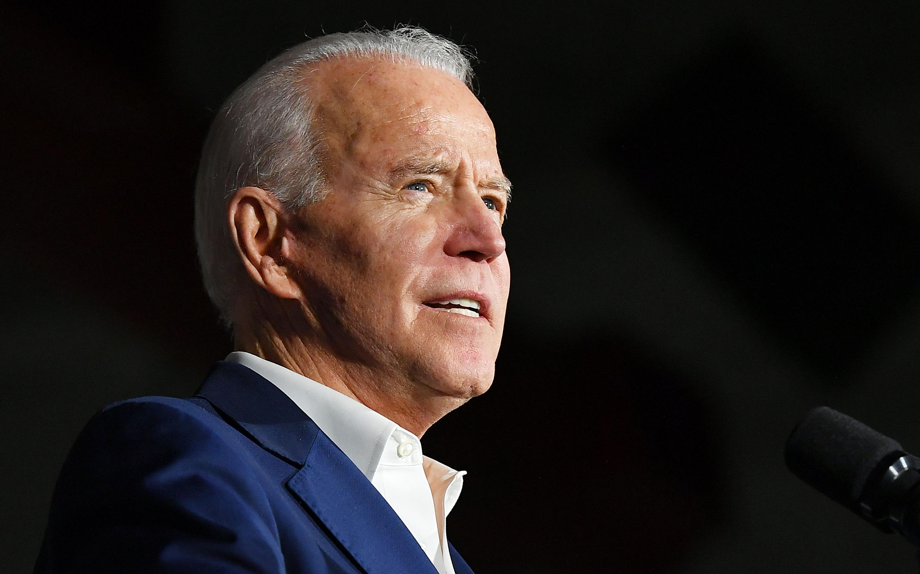 Joe Biden says he informed Bernie Sanders he will begin the VP vetting process