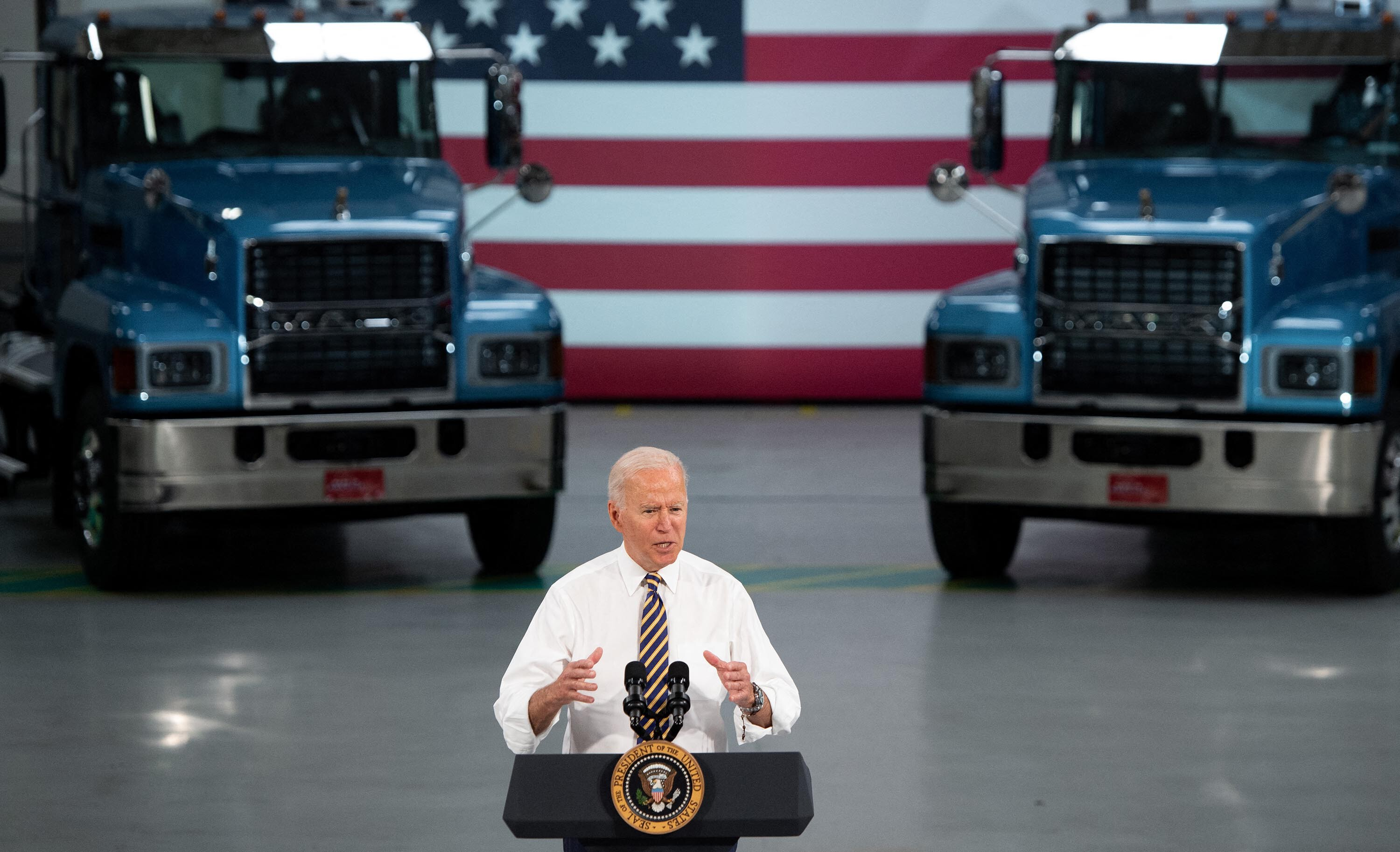 Biden stays close to home as he plots blue-collar focused presidential travel