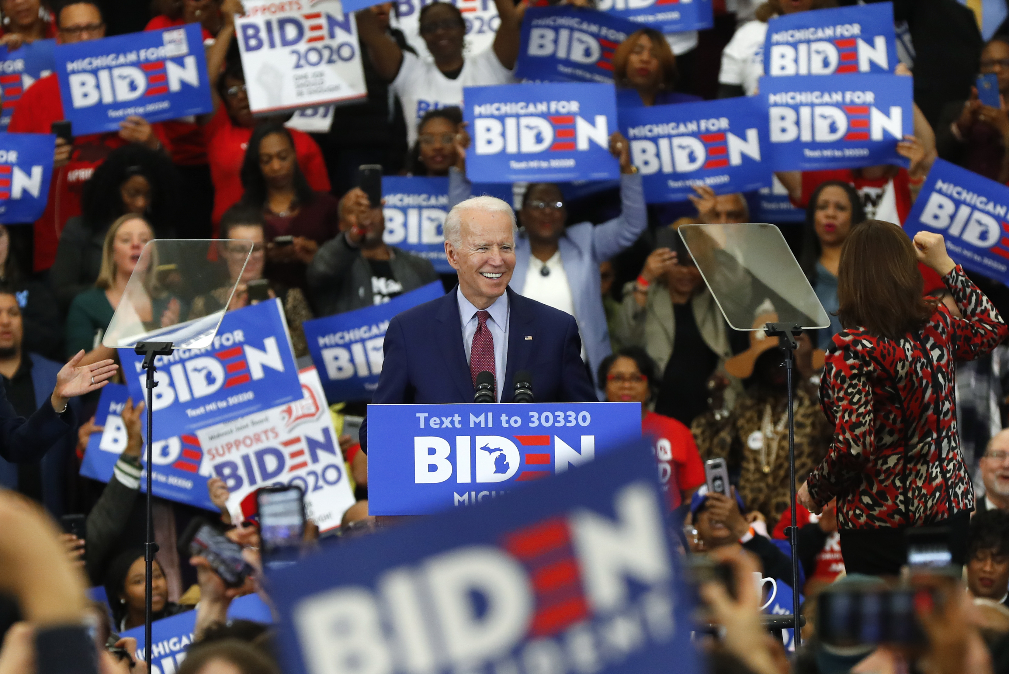 Biden campaign launches initiative to mobilize young voters