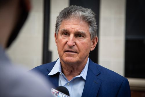Image for Manchin says he's 'not a roadblock' for Biden's priorities as he pushes for slimmed-down infrastructure bill